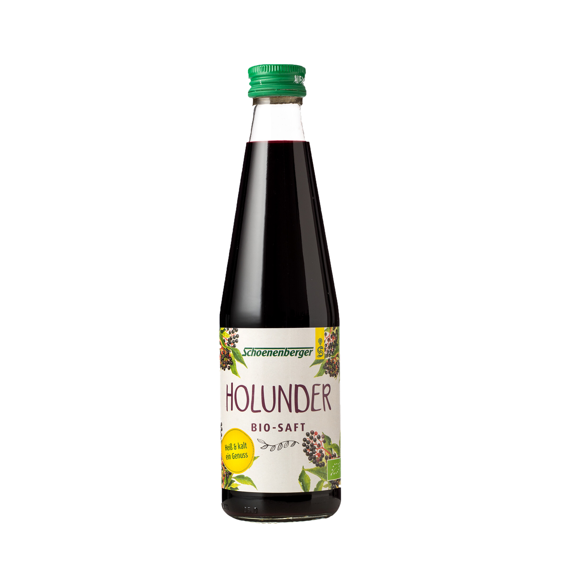 Holundersaft, Bio, 330 ml
