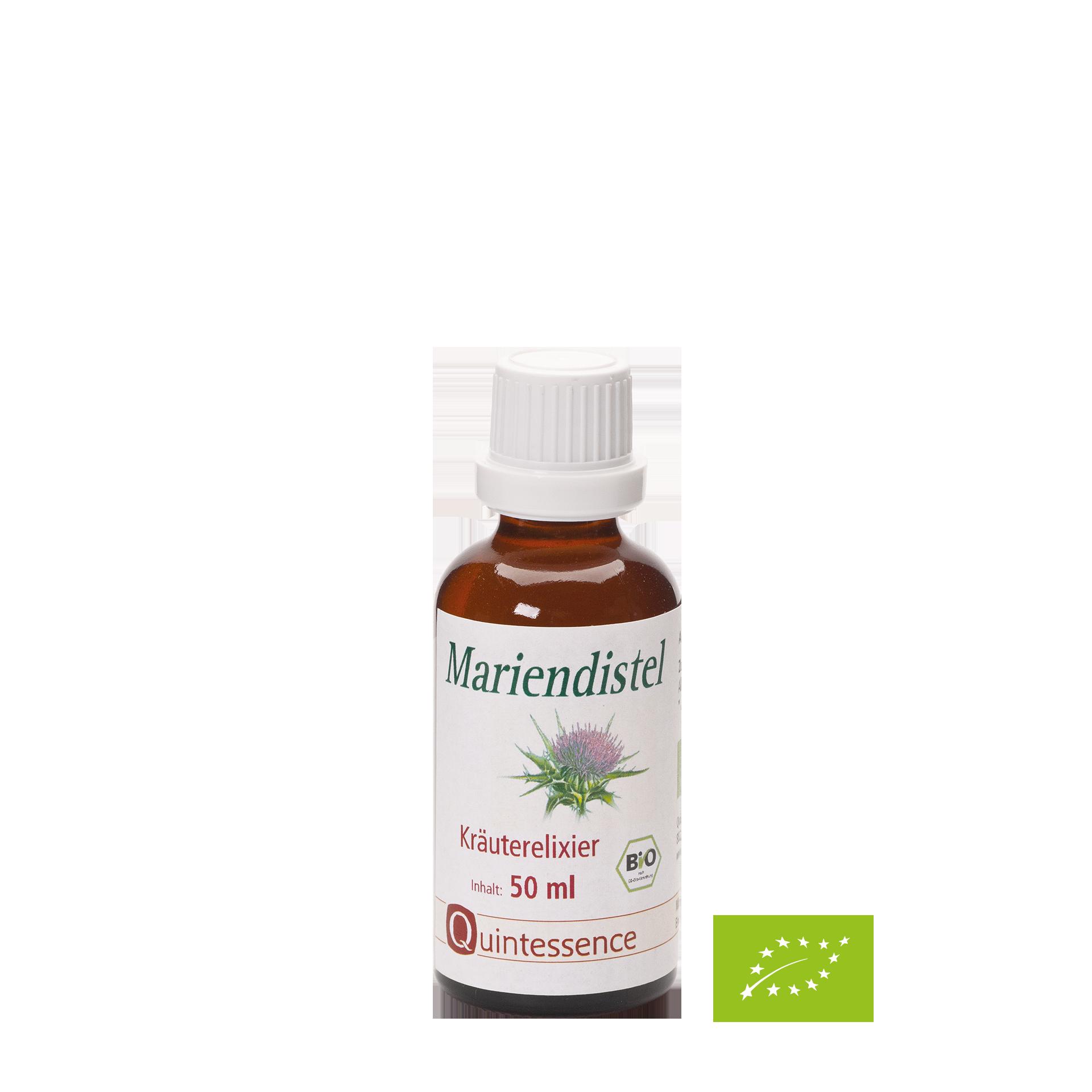 Mariendistel Kräuterelixier, BIO, 50 ml
