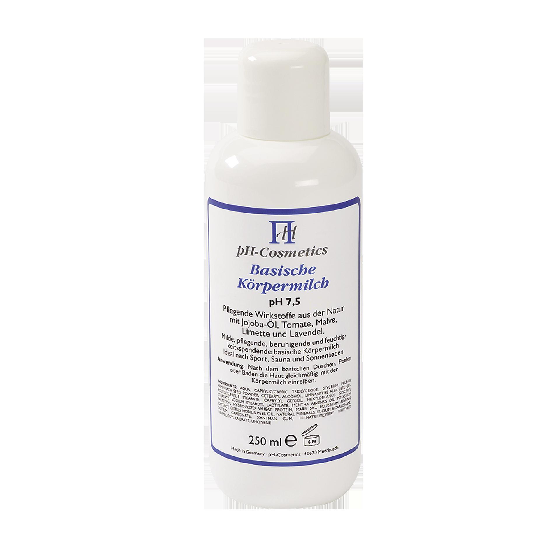 pH-Cosmetics Basische Körpermilch, pH 7.5, 250 ml