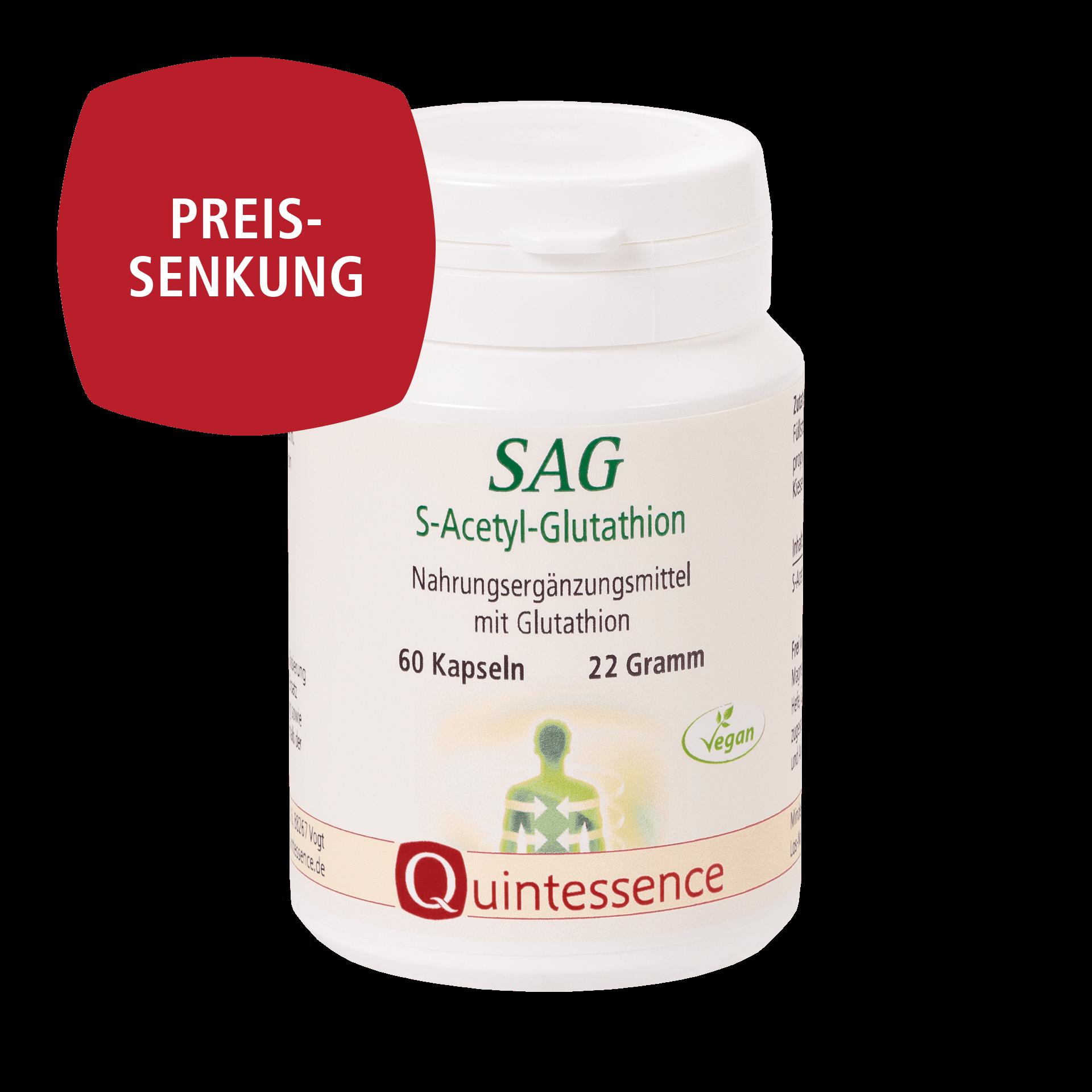 SAG S-Acetyl-Glutathion, 60 Kapseln