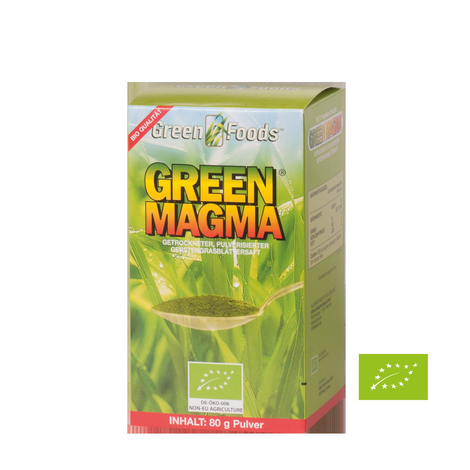 Green Magma, BIO, 80 g