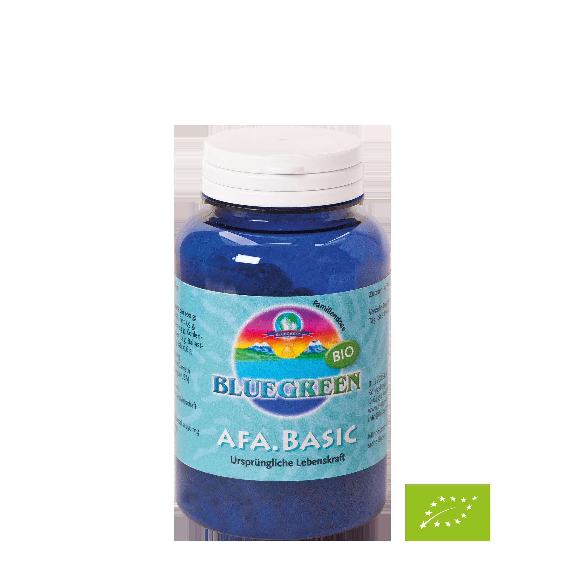Bluegreen AFA Basic Bio, ca. 360 Presslinge, 90g