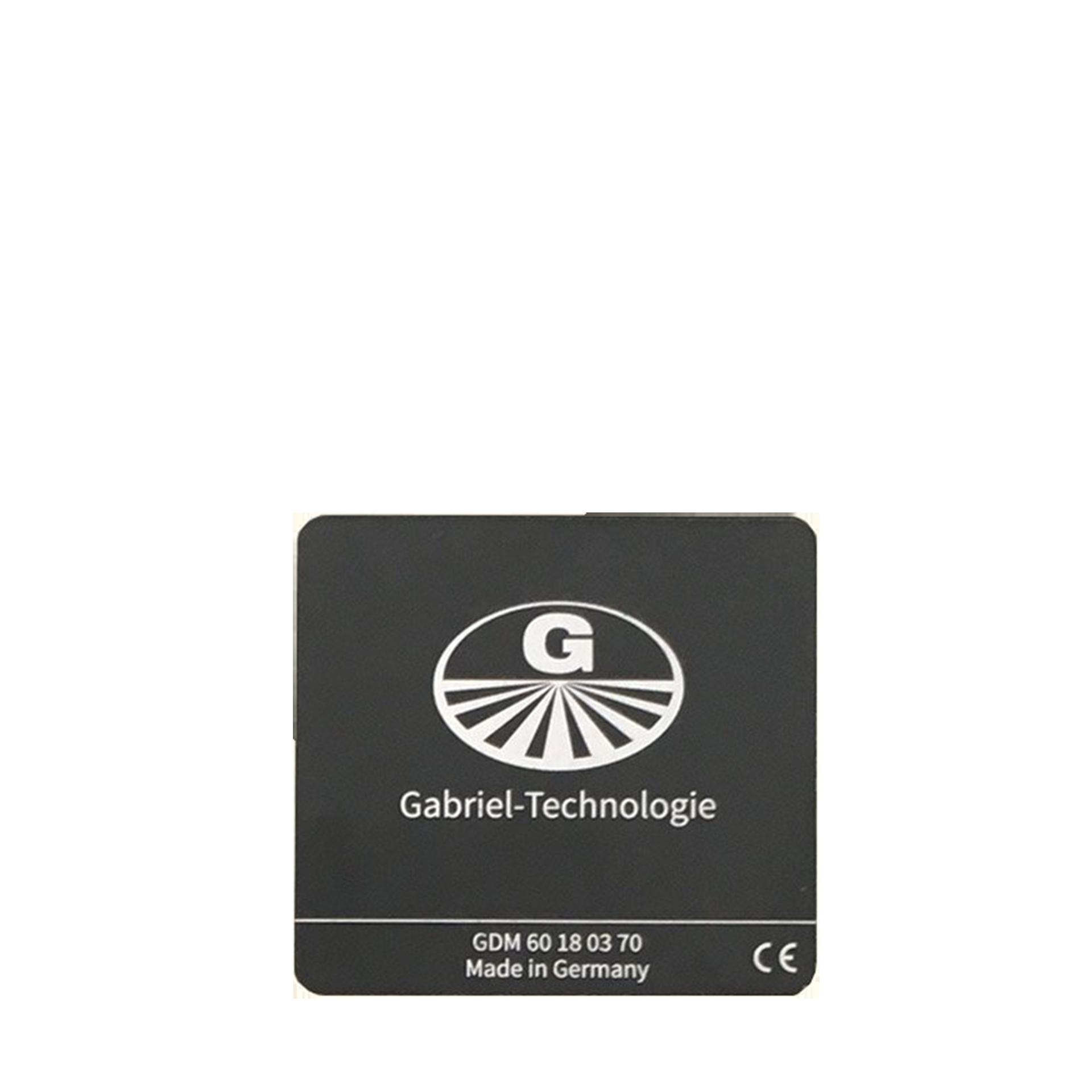 Gabriel-Chip für iPhone 8 bis 11, schwarz