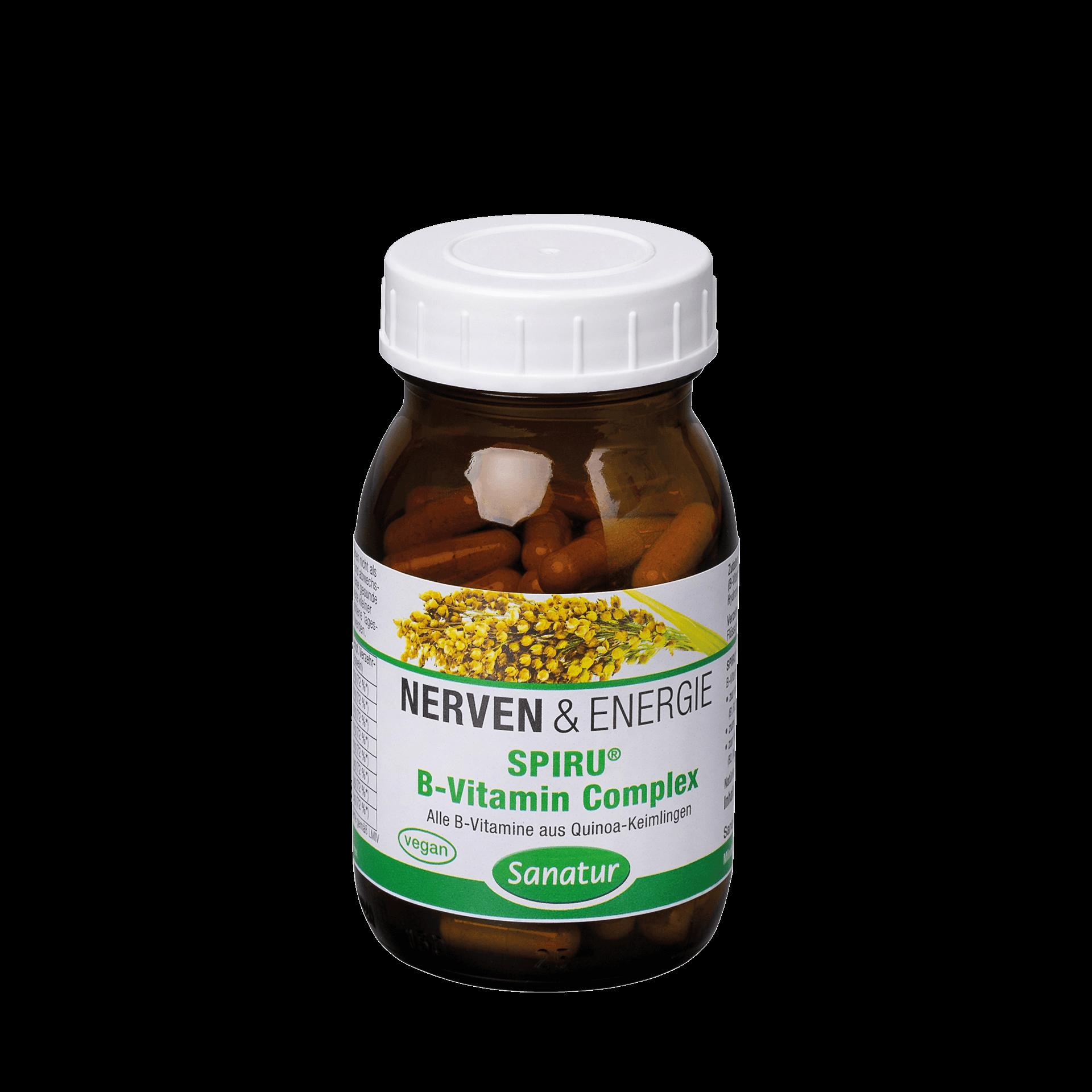 SPIRU® B-Vitamin Complex, 90 Kapseln