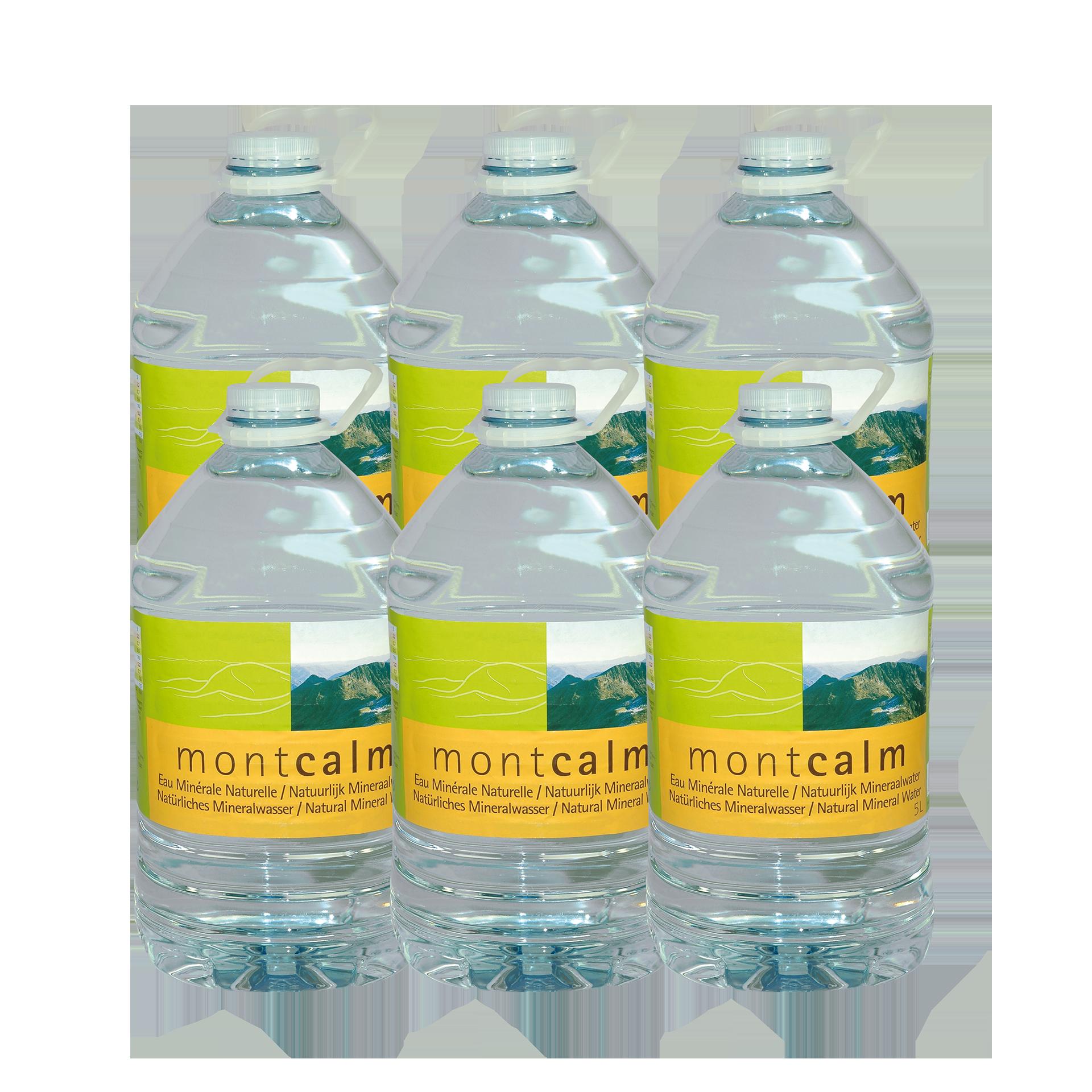 Montcalm-Mineralwasser, 6x5 Liter - Sie sparen 1,60 Euro