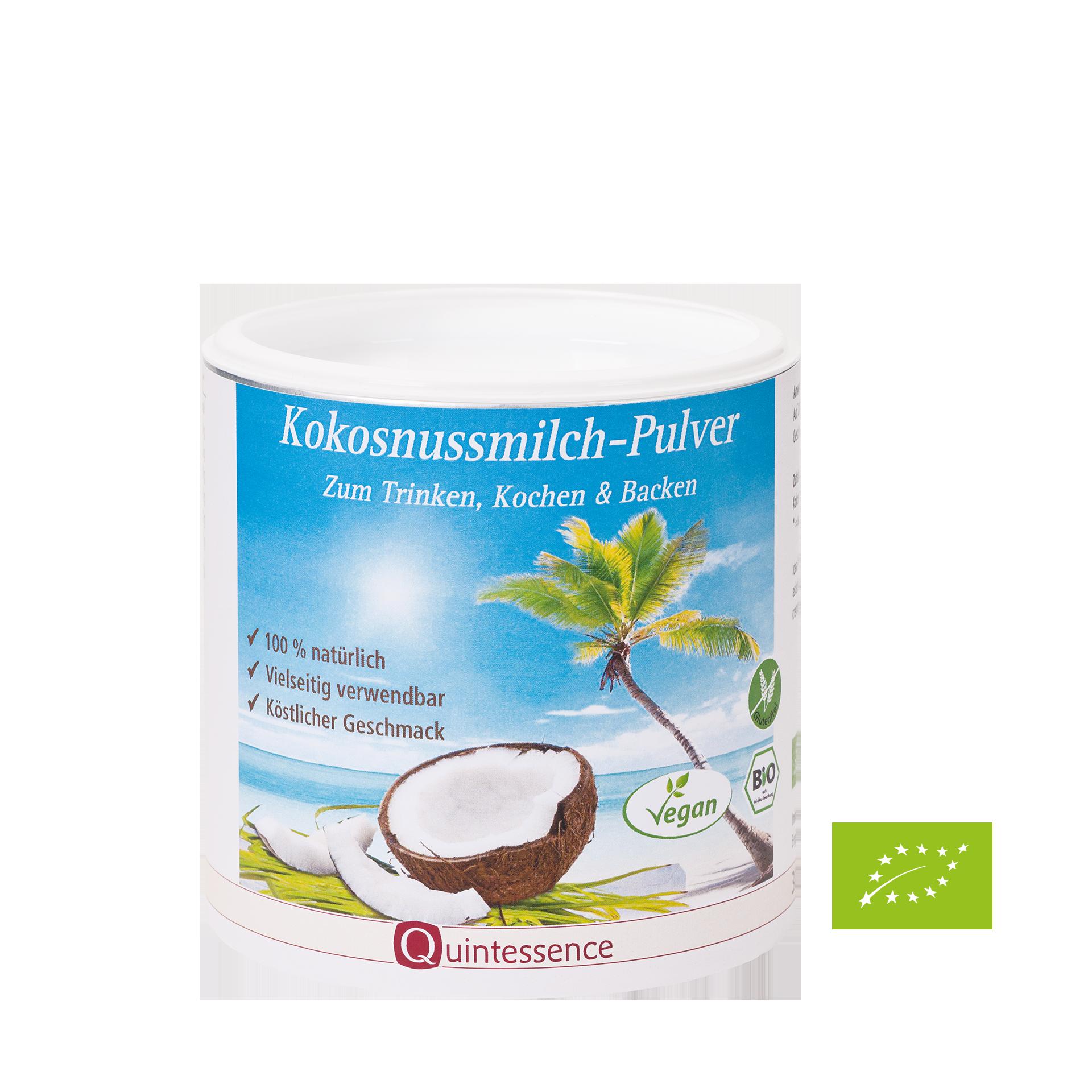 Bio-Kokosnussmilch-Pulver, Quintessence, 300 g