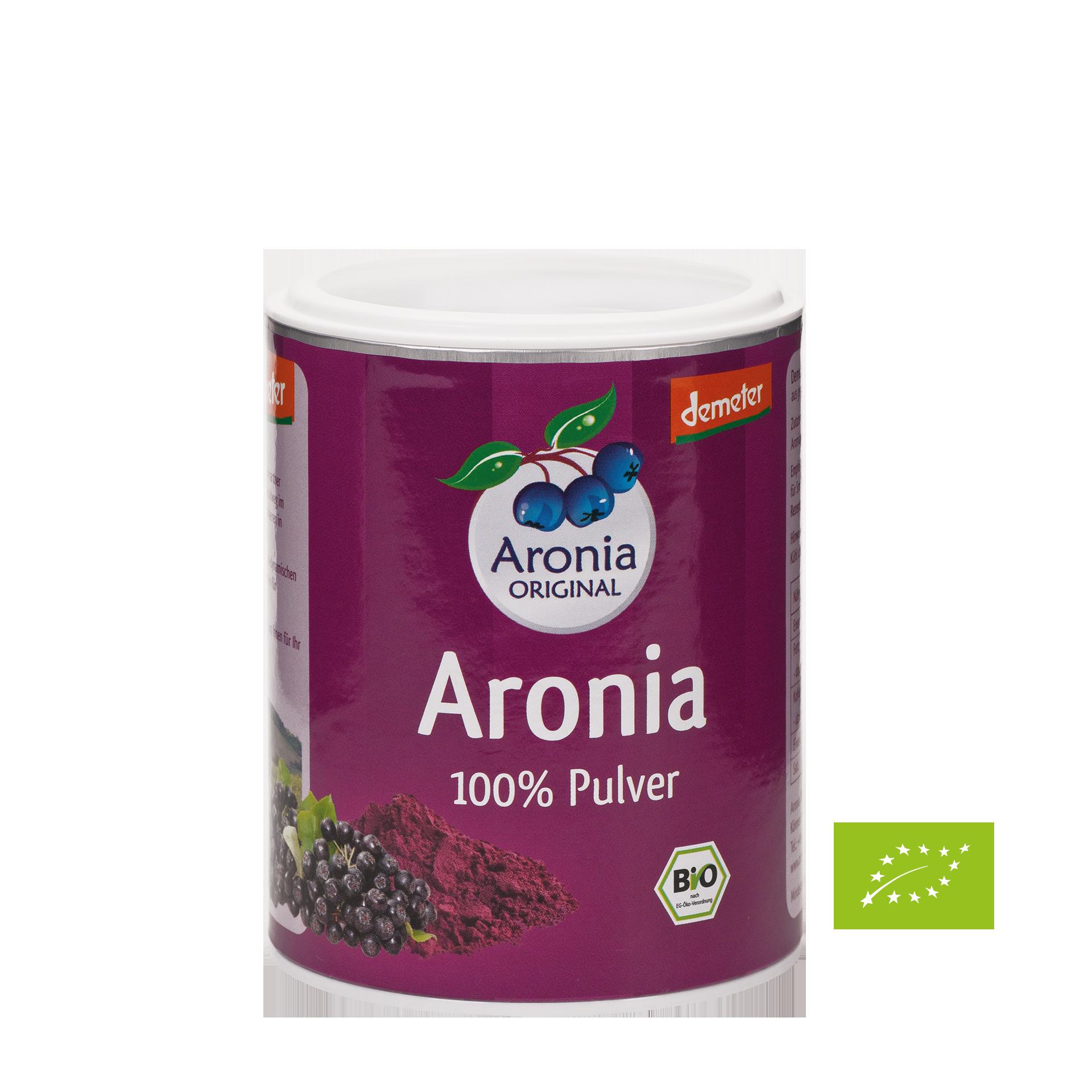 Aronia Pulver BIO, 100 g