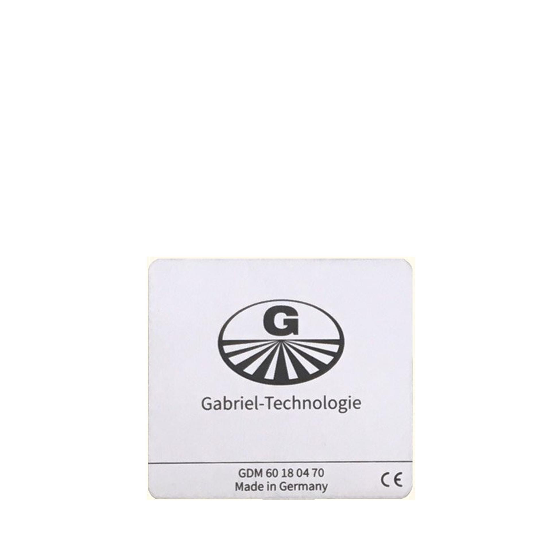 Gabriel-Chip für iPhone 8 bis 11 silber
