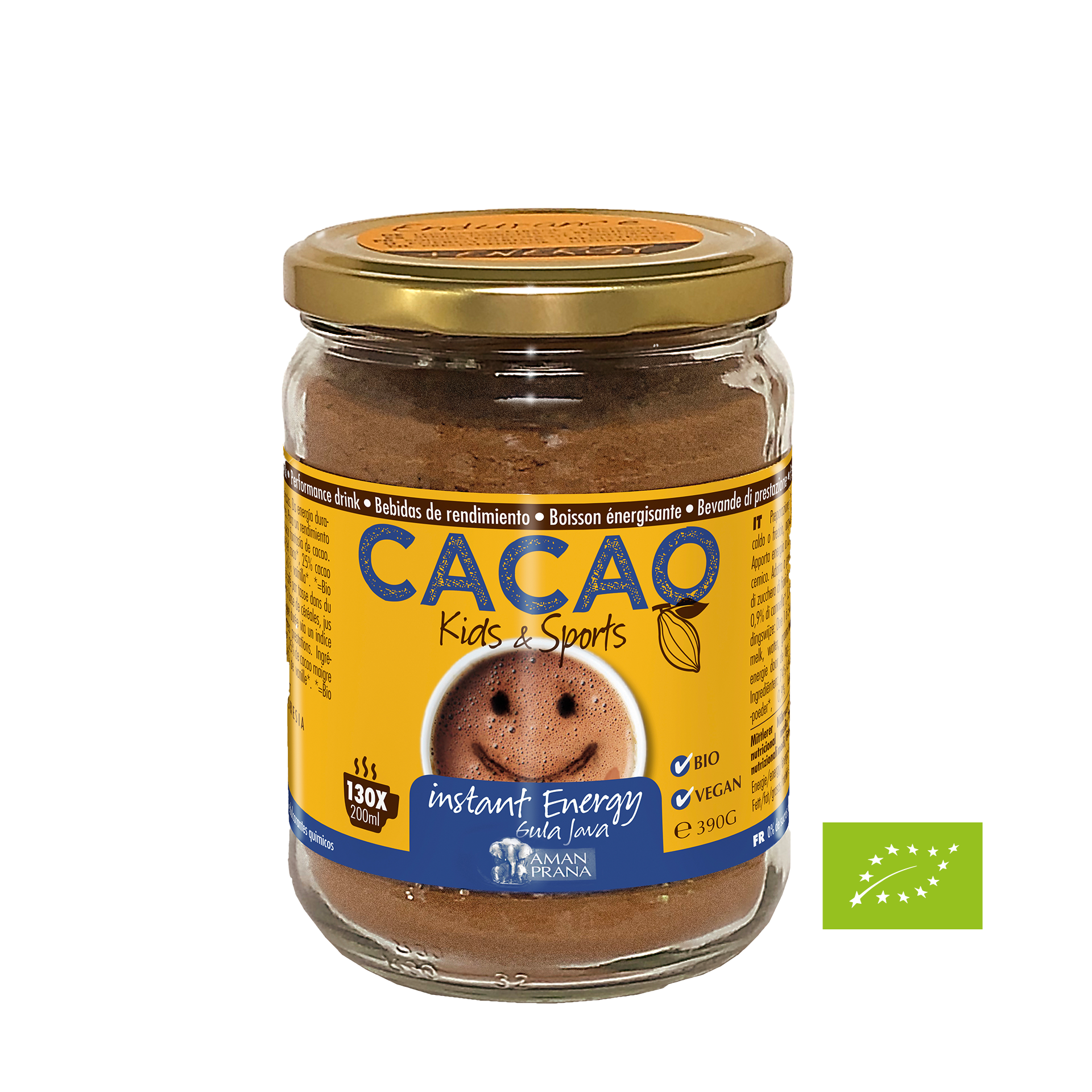 Cacao Kids & Sports, BIO, 390 g
