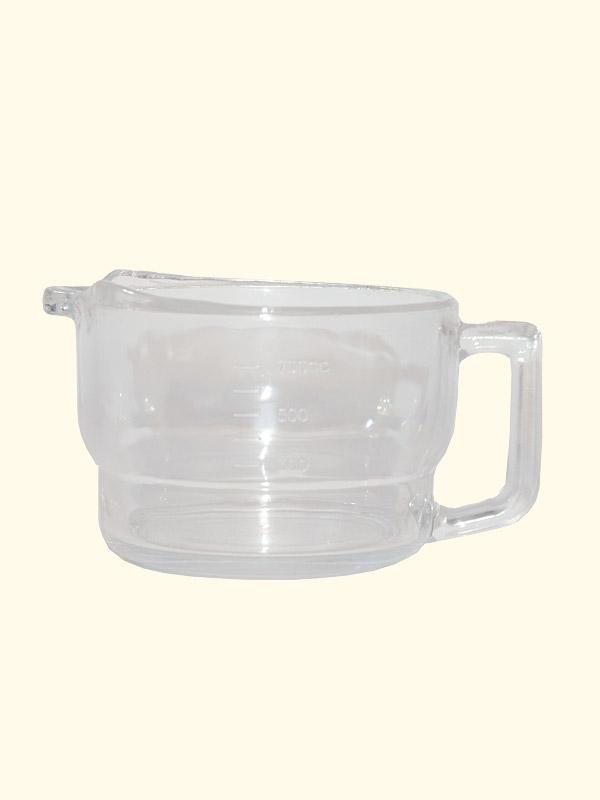 Glaskanne für Entsafter, 0,7 Liter