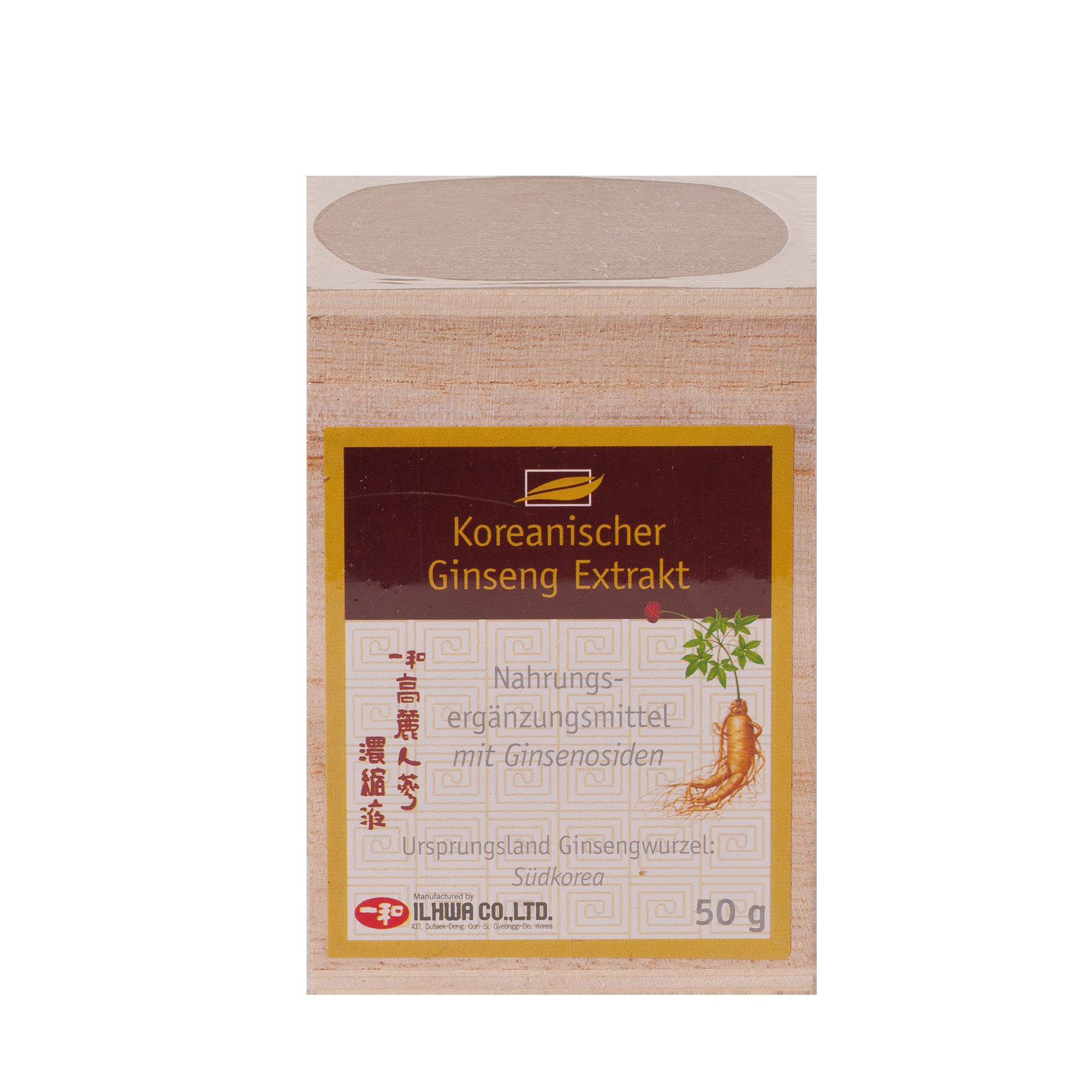 IL HWA Ginseng Extrakt, 50 g