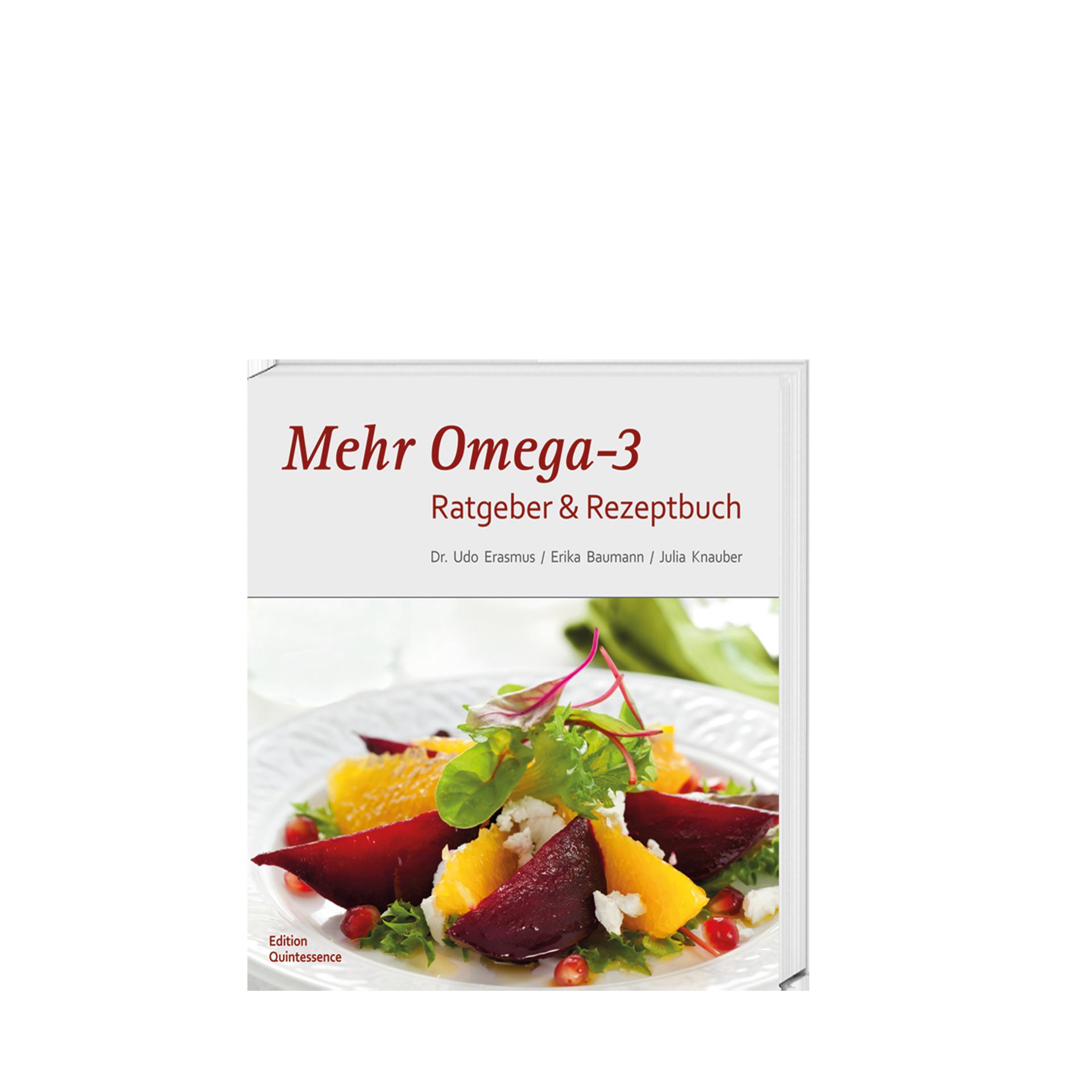 Mehr Omega-3 Ratgeber & Rezeptbuch, 150 Seiten