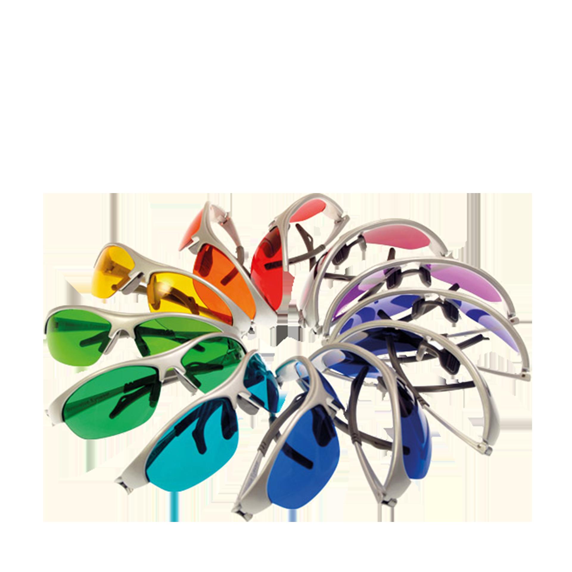 Spektro-Chrom 12 Farbbrillen Komplettset im exklusiven Brillenkoffer