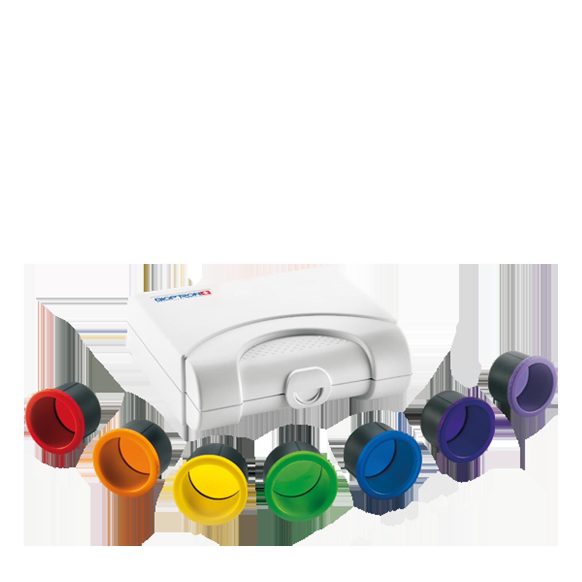 Bioptron MedAll, Farbfilter-Set