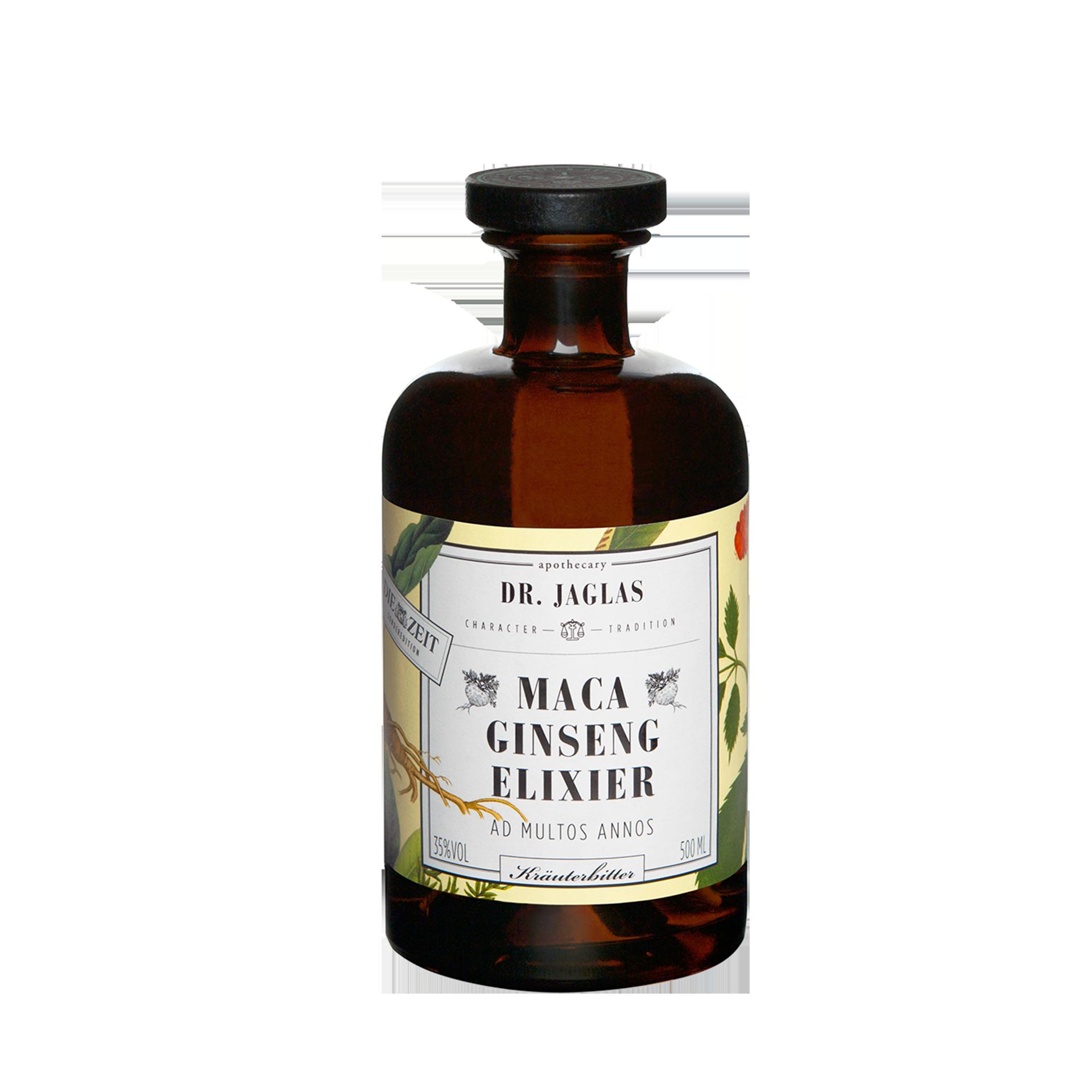 Maca Ginseng Elixier, 500 ml