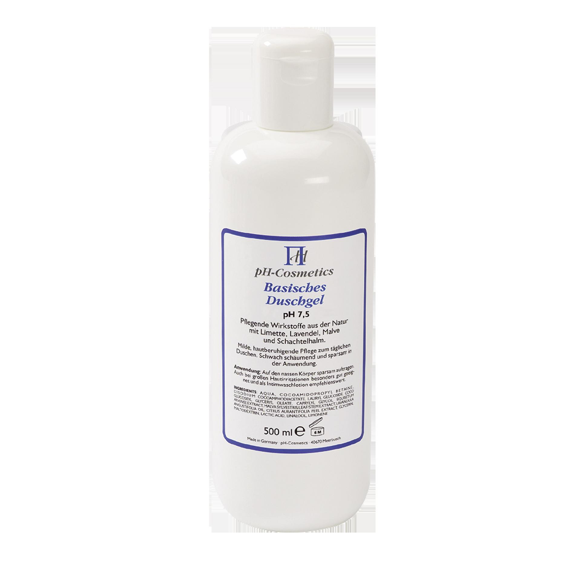pH-Cosmetics Basisches Duschgel, pH 7.5, 500 ml
