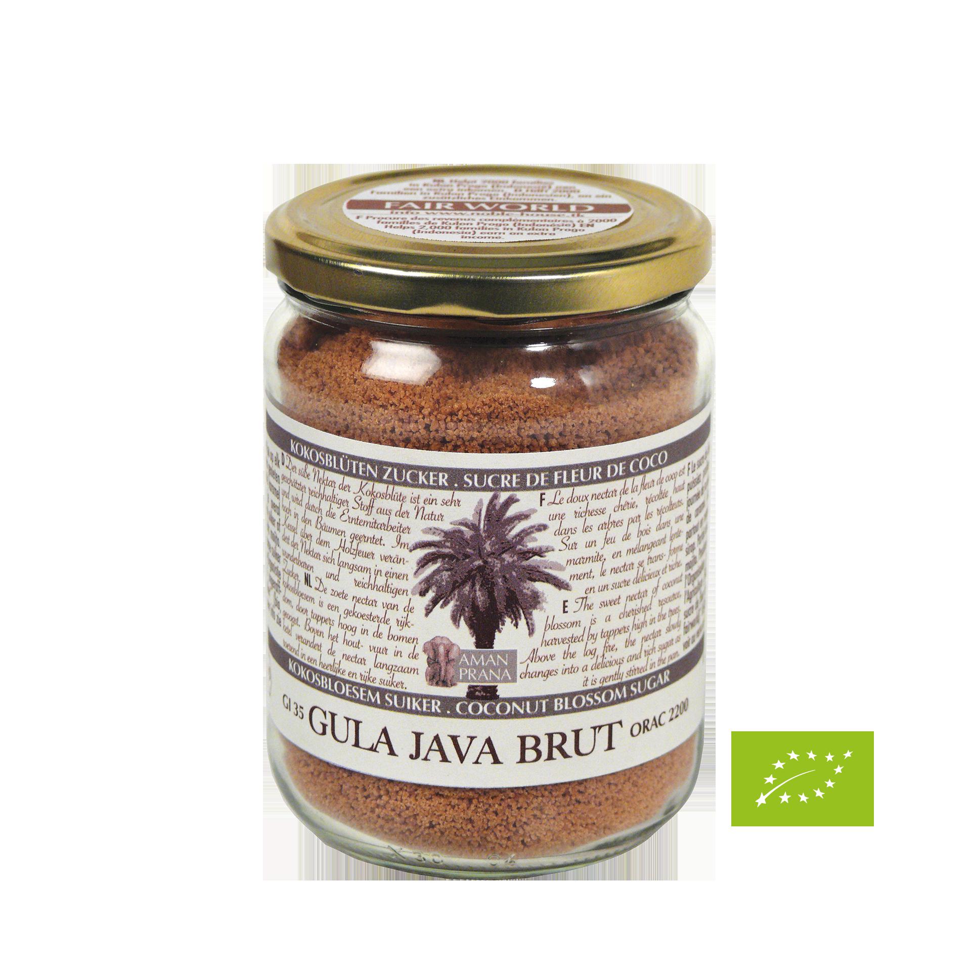 Gula Java Brut, BIO, 370 g