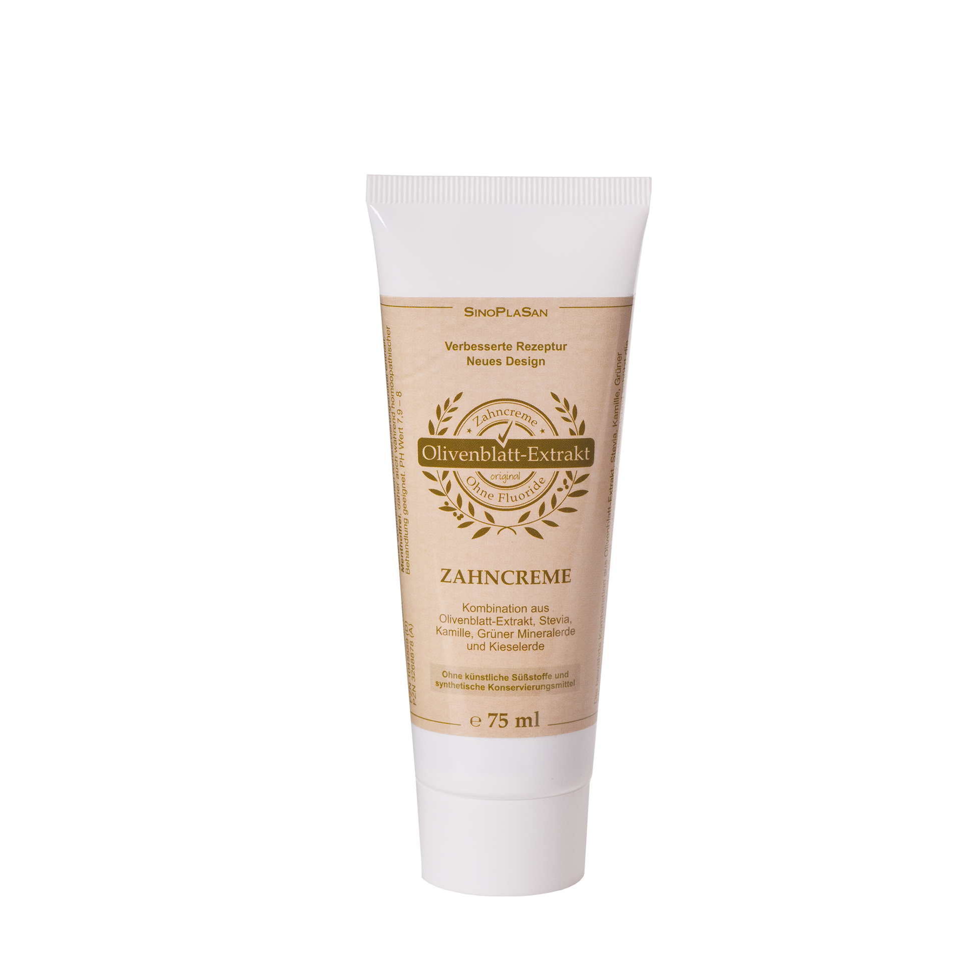 Olivenblatt-Extrakt Zahncreme, 75 ml
