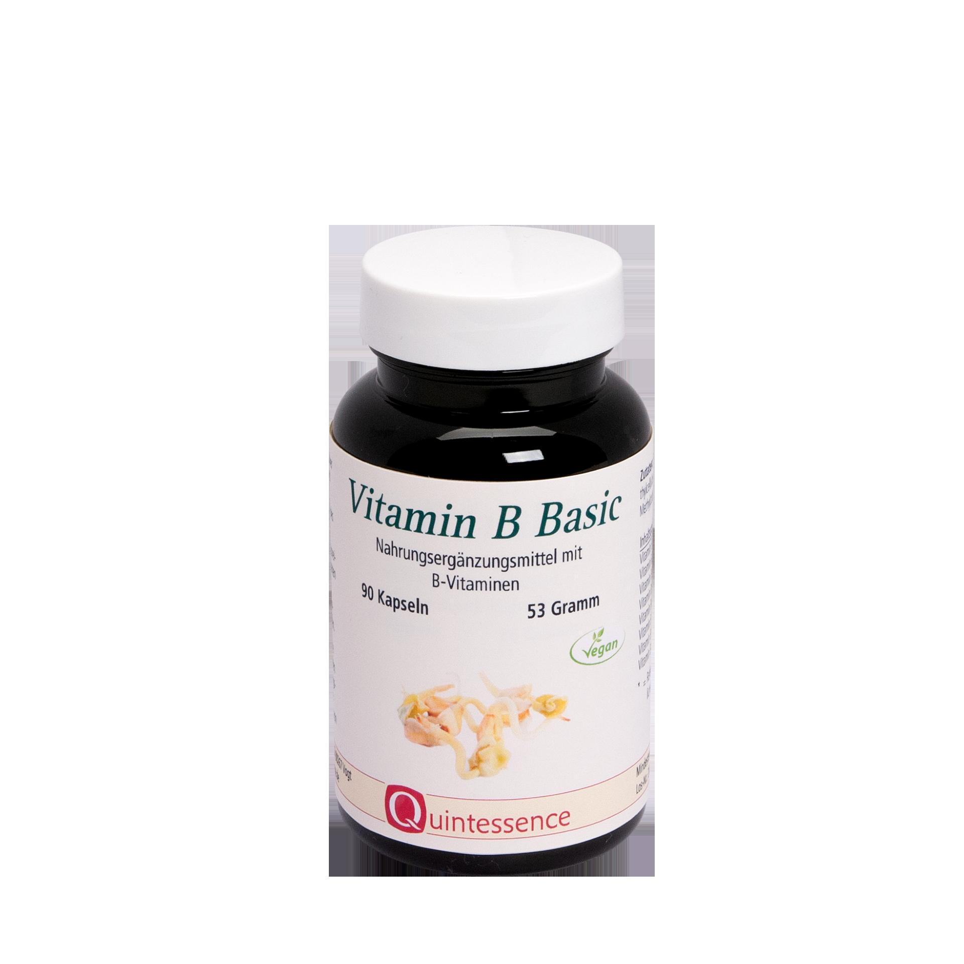 Vitamin B Basic, 90 Kapseln