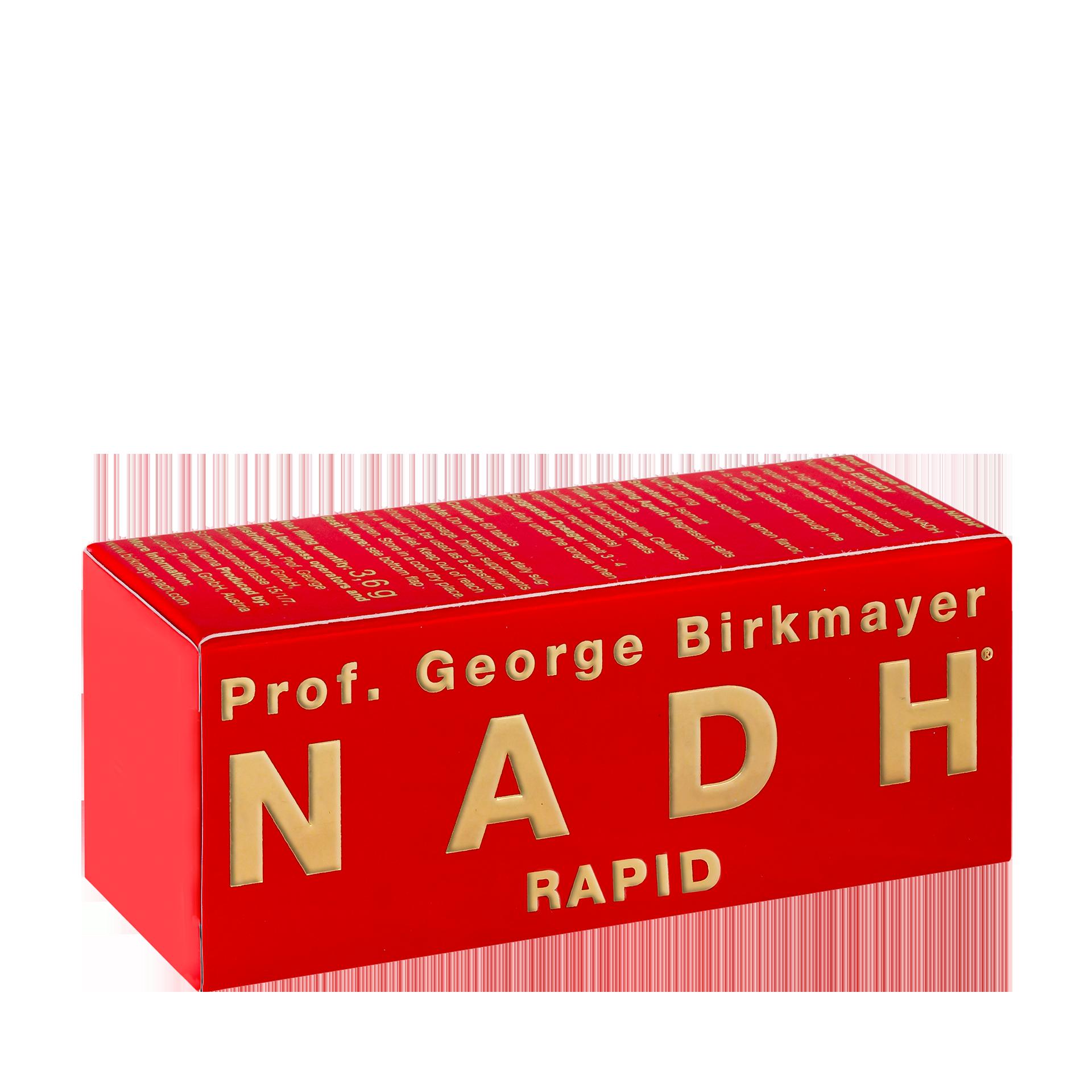 NADH Rapid Lutschpastillen, 60 Tabletten