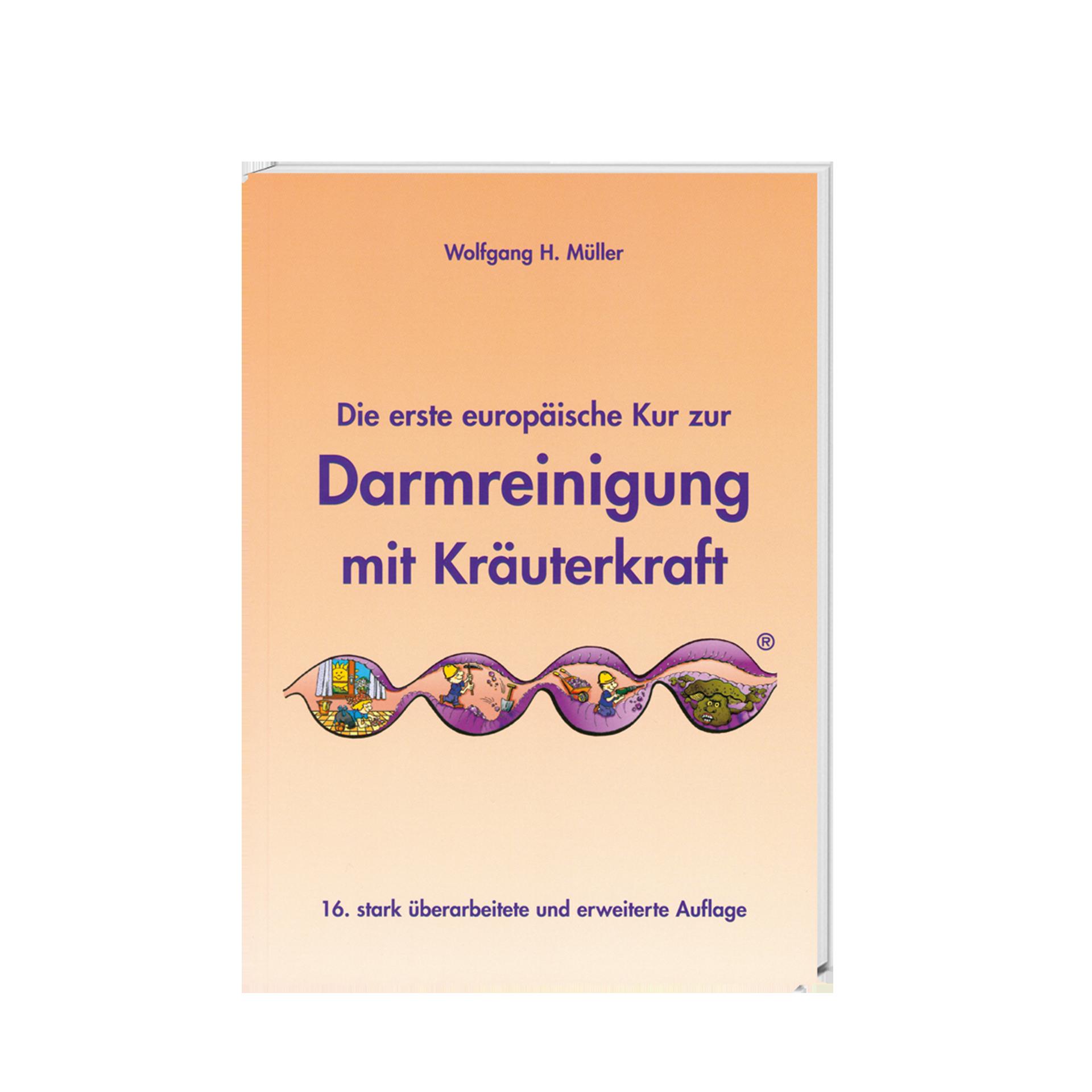 Darmreinigung mit Kräuterkraft, 134 Seiten