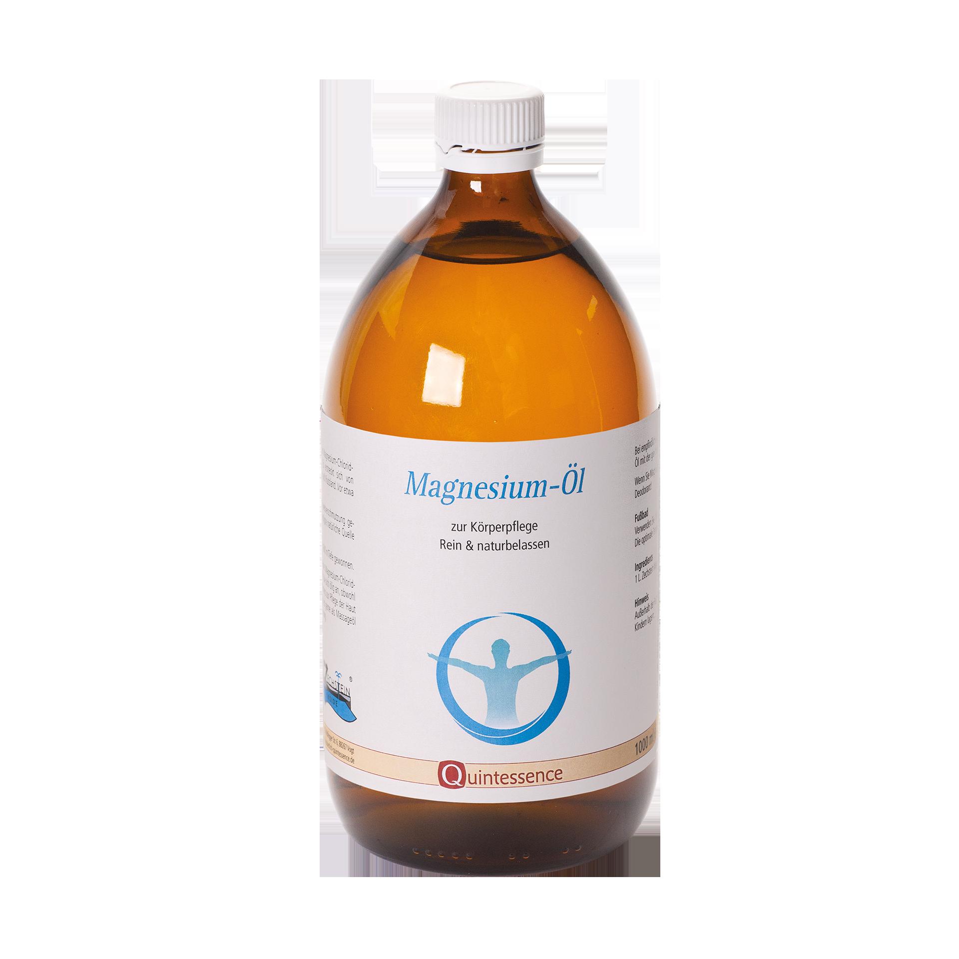 Zechstein Magnesiumöl, 1000 ml Glasflasche