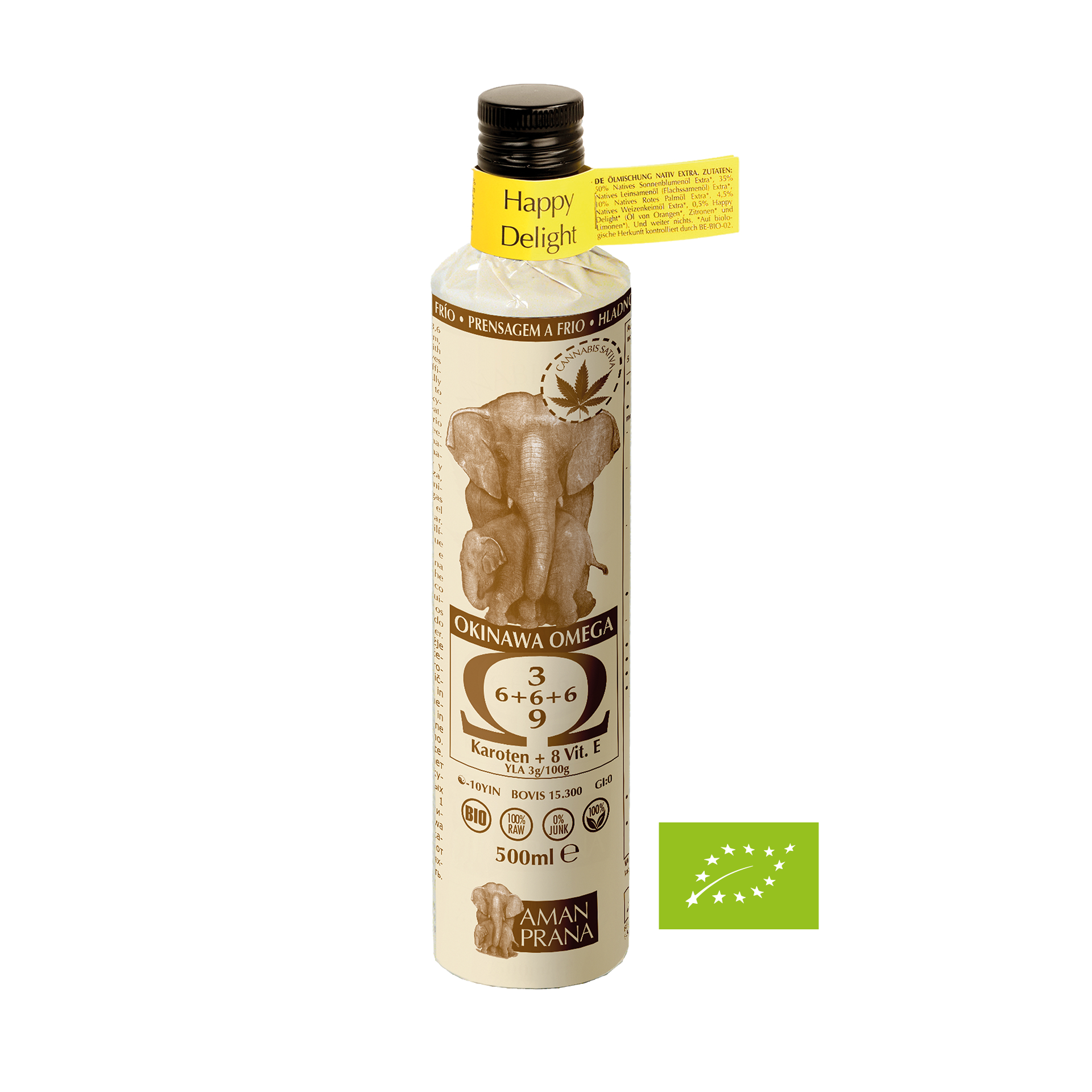 Amanprana Happy Delight-Öl, BIO, 500 ml