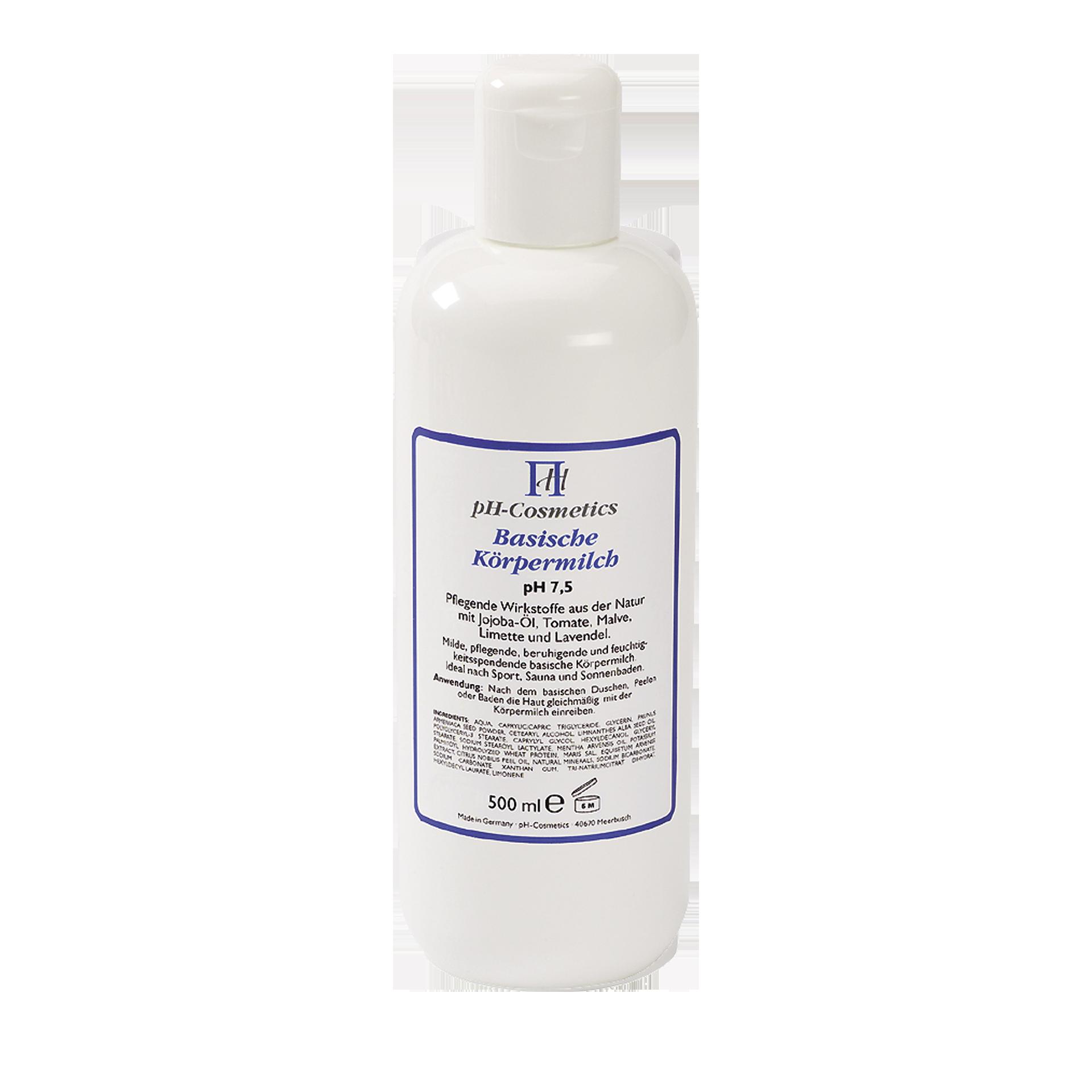 pH-Cosmetics Basische Körpermilch, pH 7.5, 500 ml