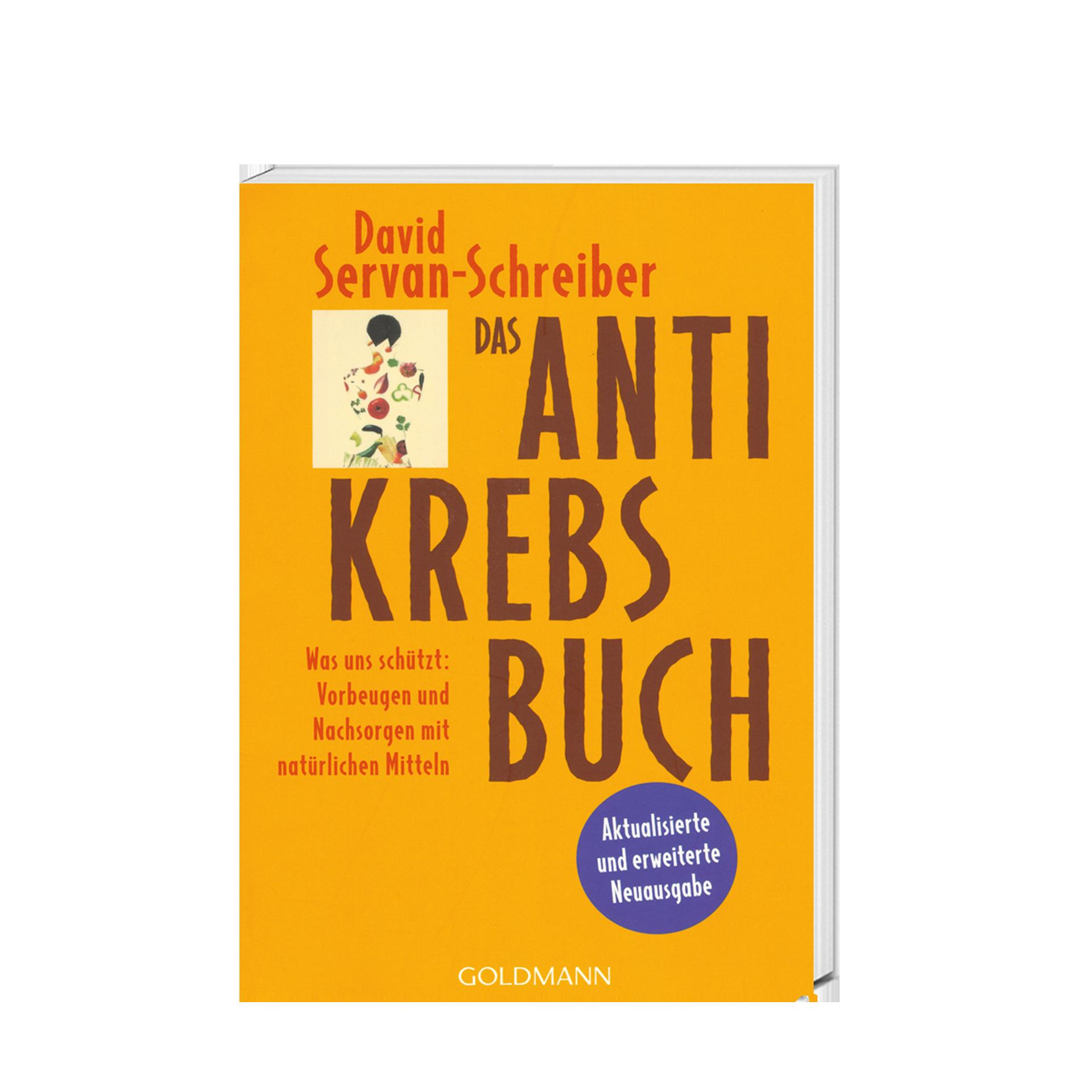 Das Anti Krebs Buch, 400 Seiten