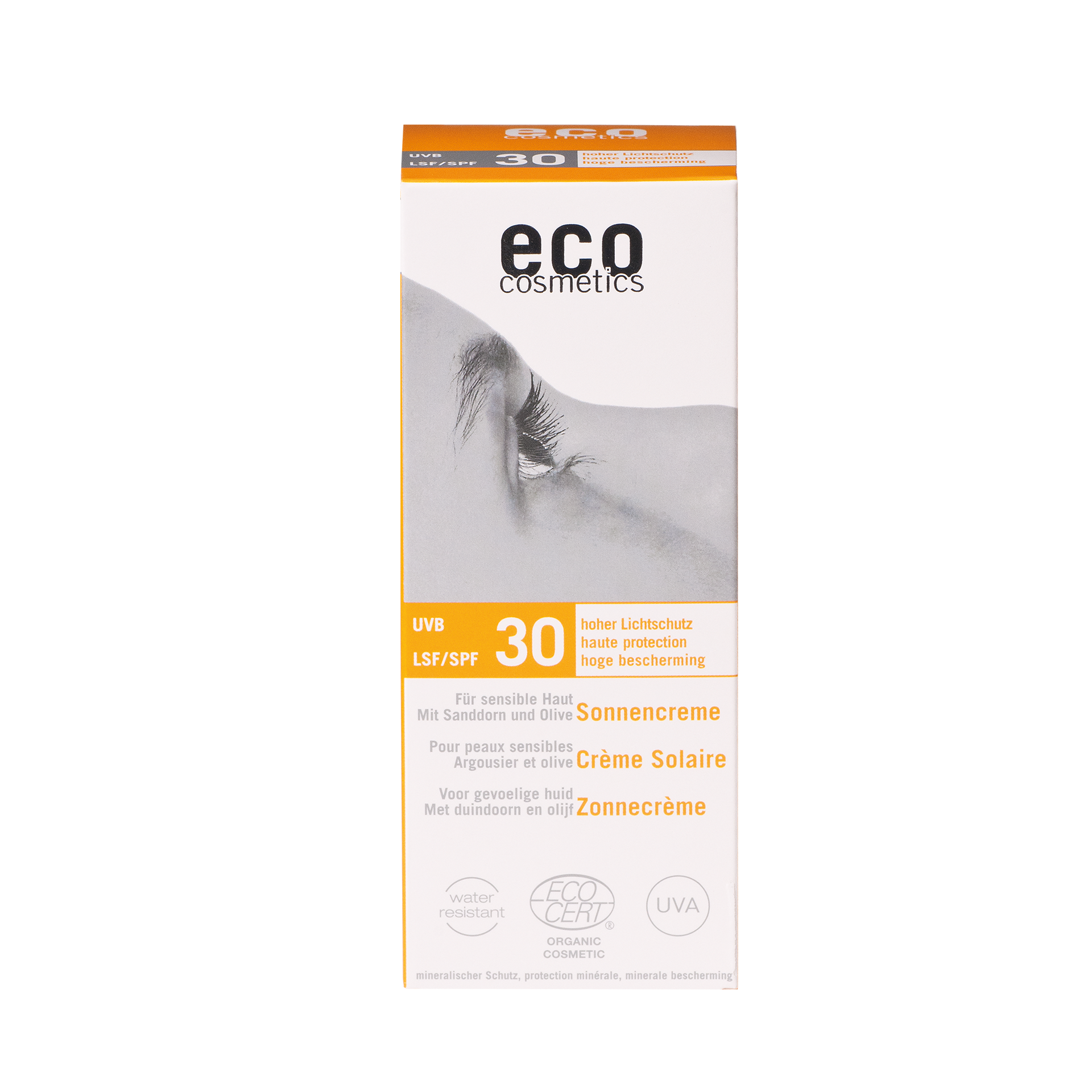 eco-cosmetics Sonnencreme LSF 30, 75 ml
