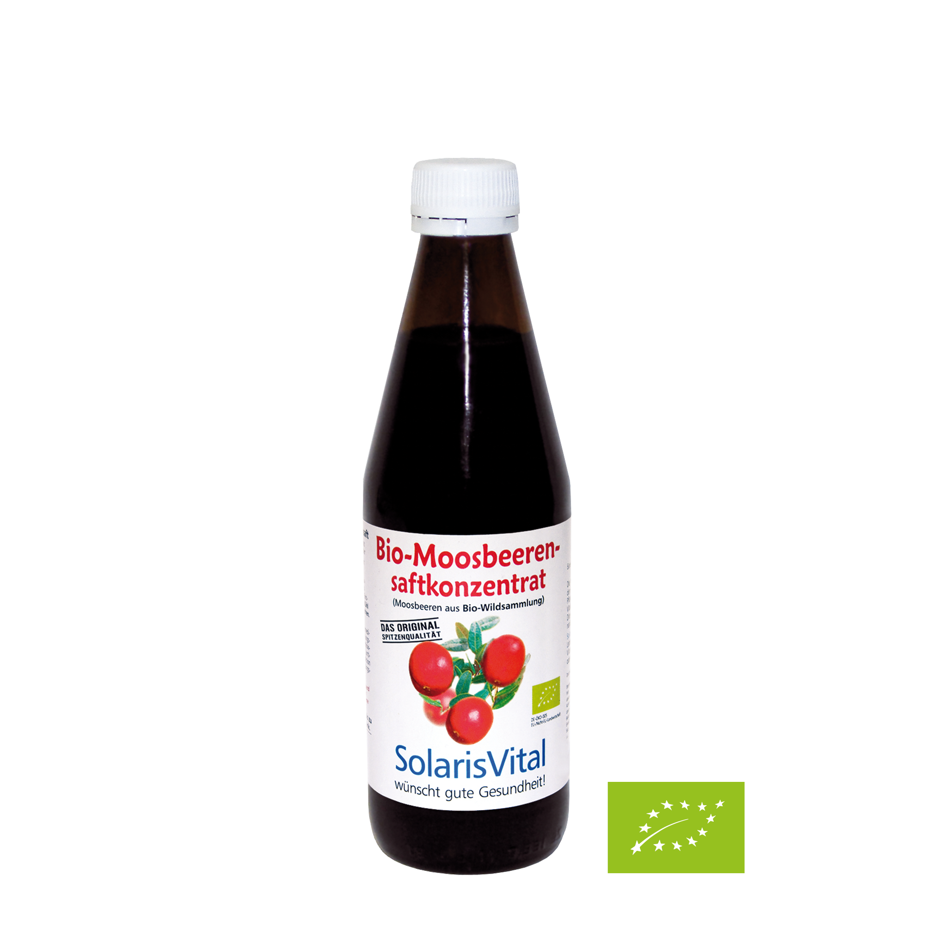 Bio-Moosbeerensaft-Konzentrat, 330 ml