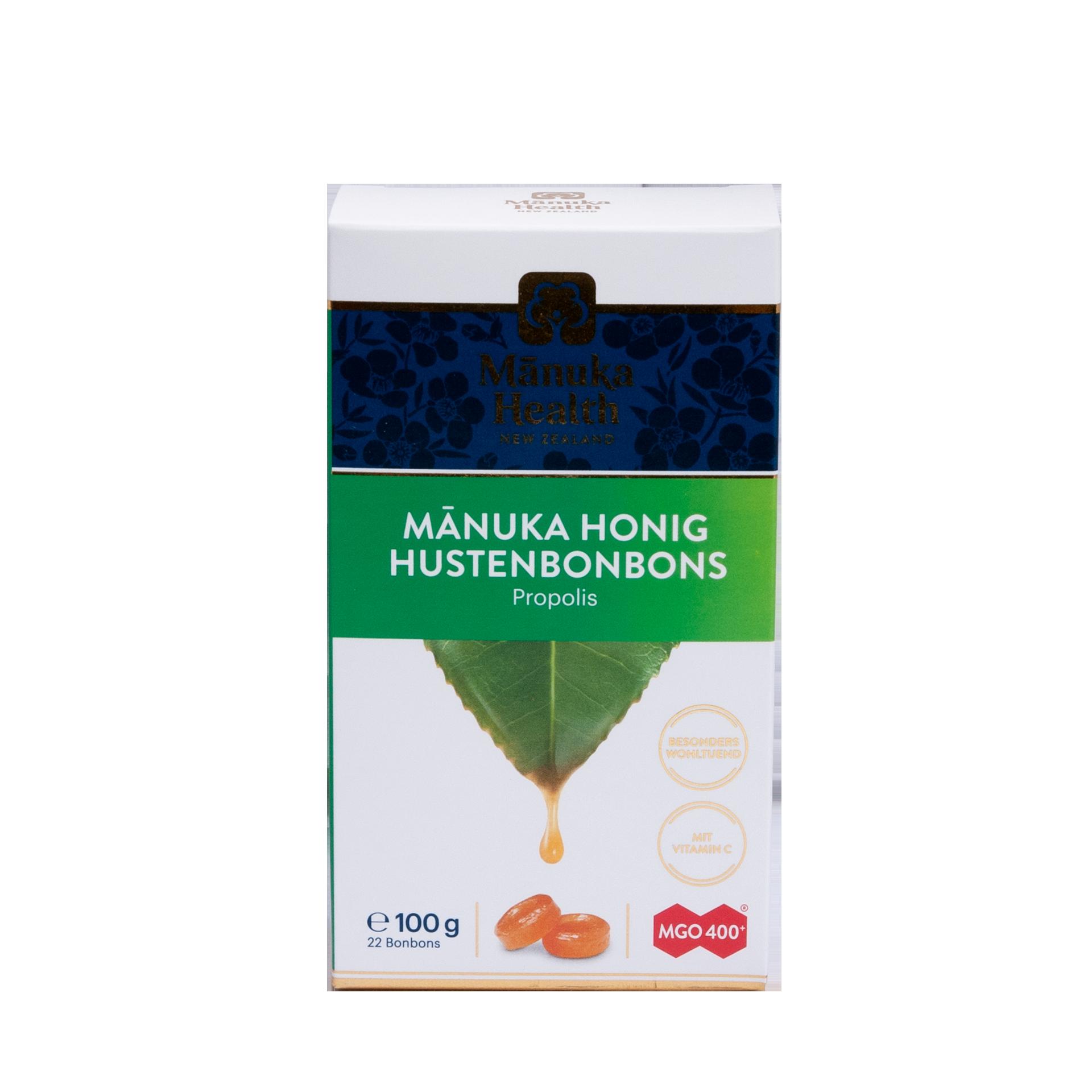 Manuka Honig Lutschbonbons, Propolis, 100 g