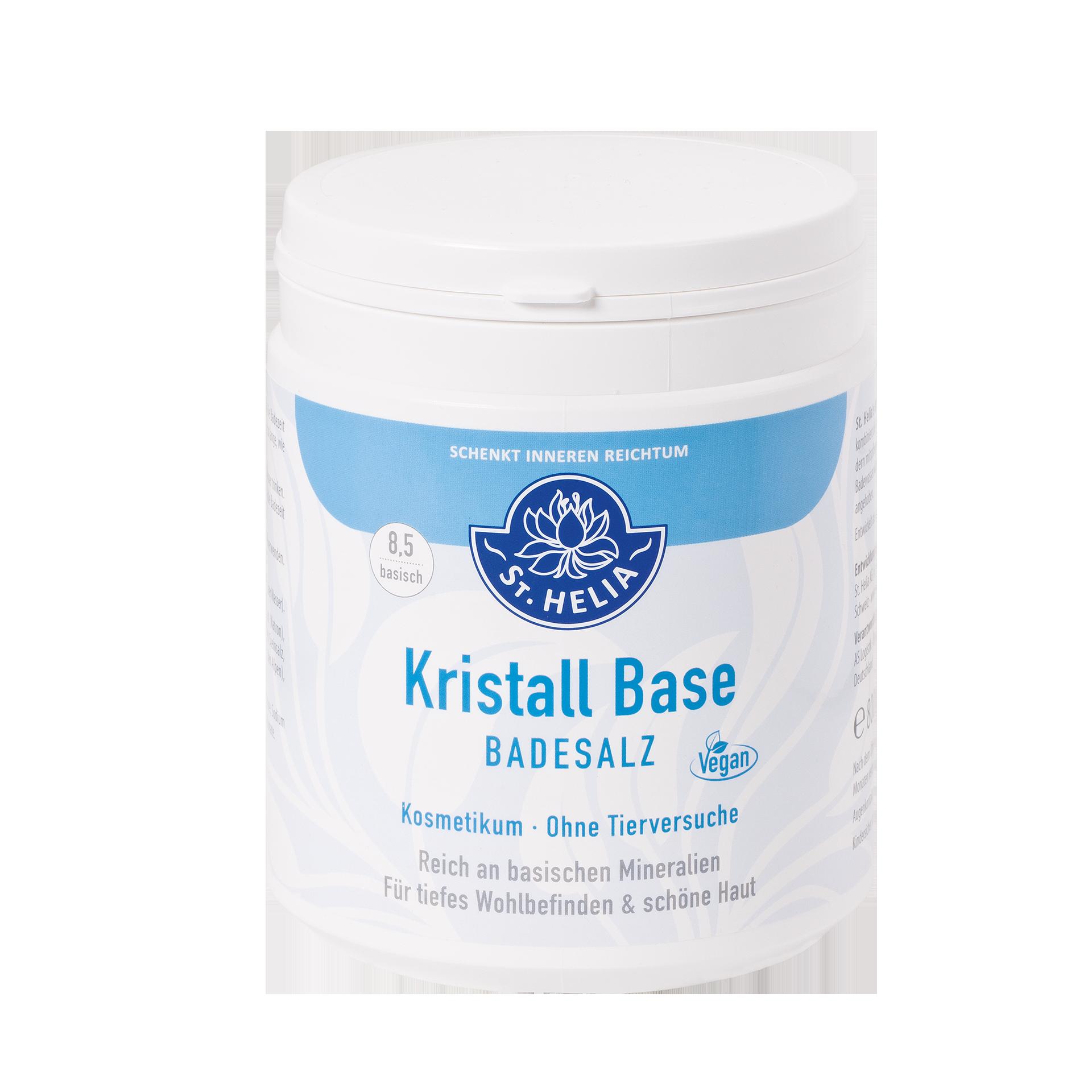 Kristall-Base - Basisches Badesalz, 800 g