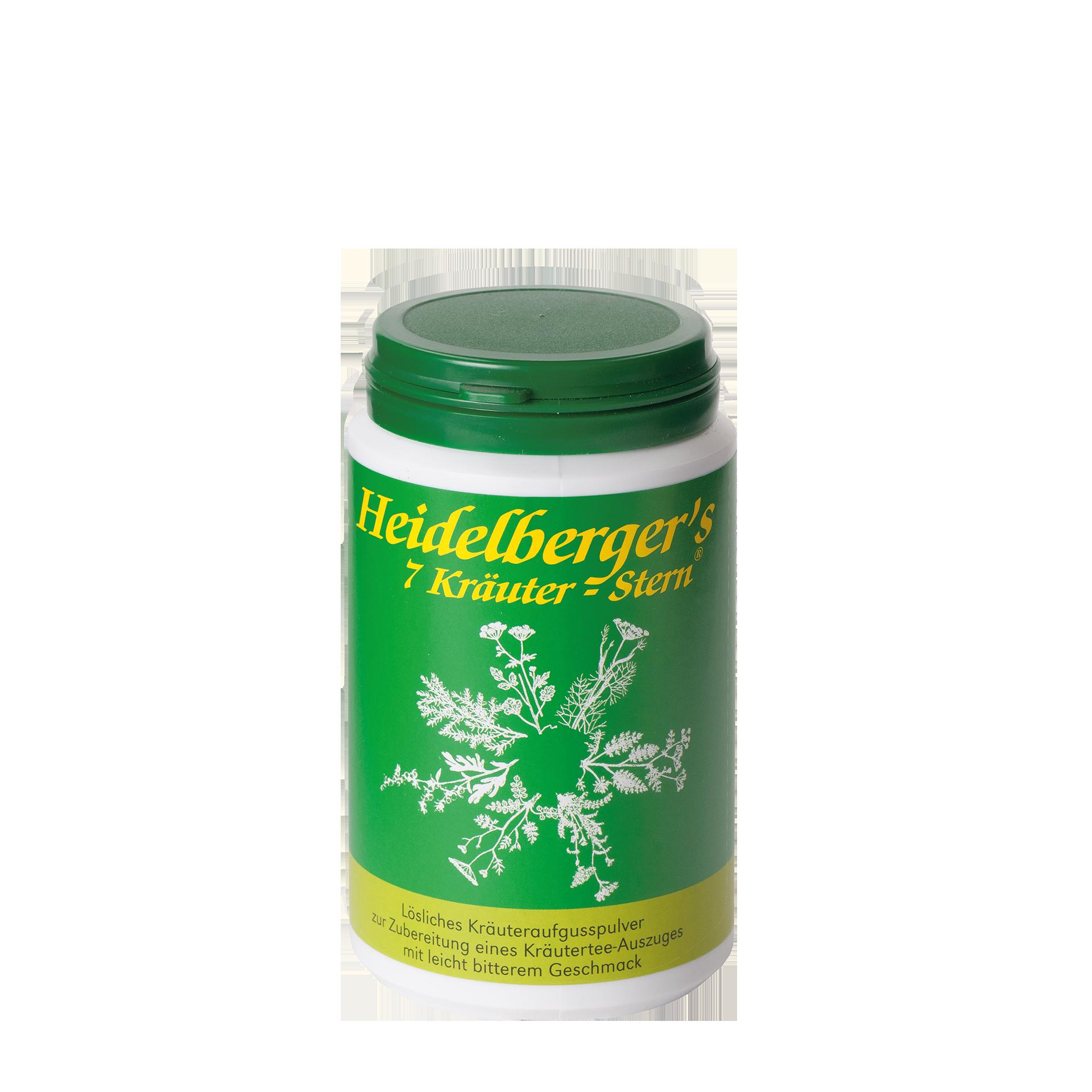 Heidelberger's 7 Kräuter Stern, 100 g