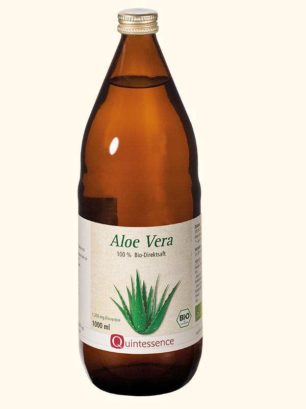 Aloe Vera-Saft, BIO, 100% Direktsaft, 1000 ml