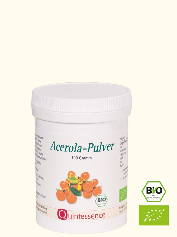 Acerola-Pulver, BIO, 100 g