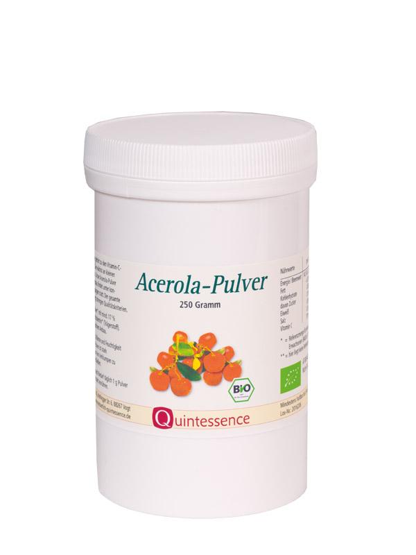 Acerola-Pulver, BIO, 250 g