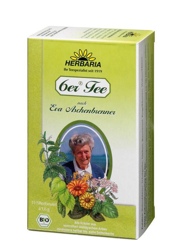6er Tee, BIO, 15 Filterbeutel