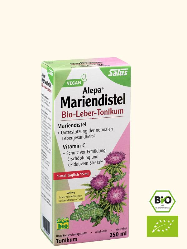 Alepa Mariendistel Bio-Leber-Tonikum, 250 ml