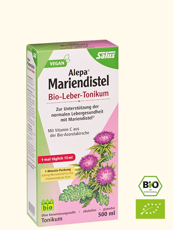 Alepa Mariendistel Bio-Leber-Tonikum, 500 ml