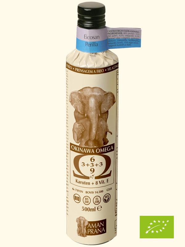 Amanprana Eicosan Perilla-Öl, BIO, 500 ml