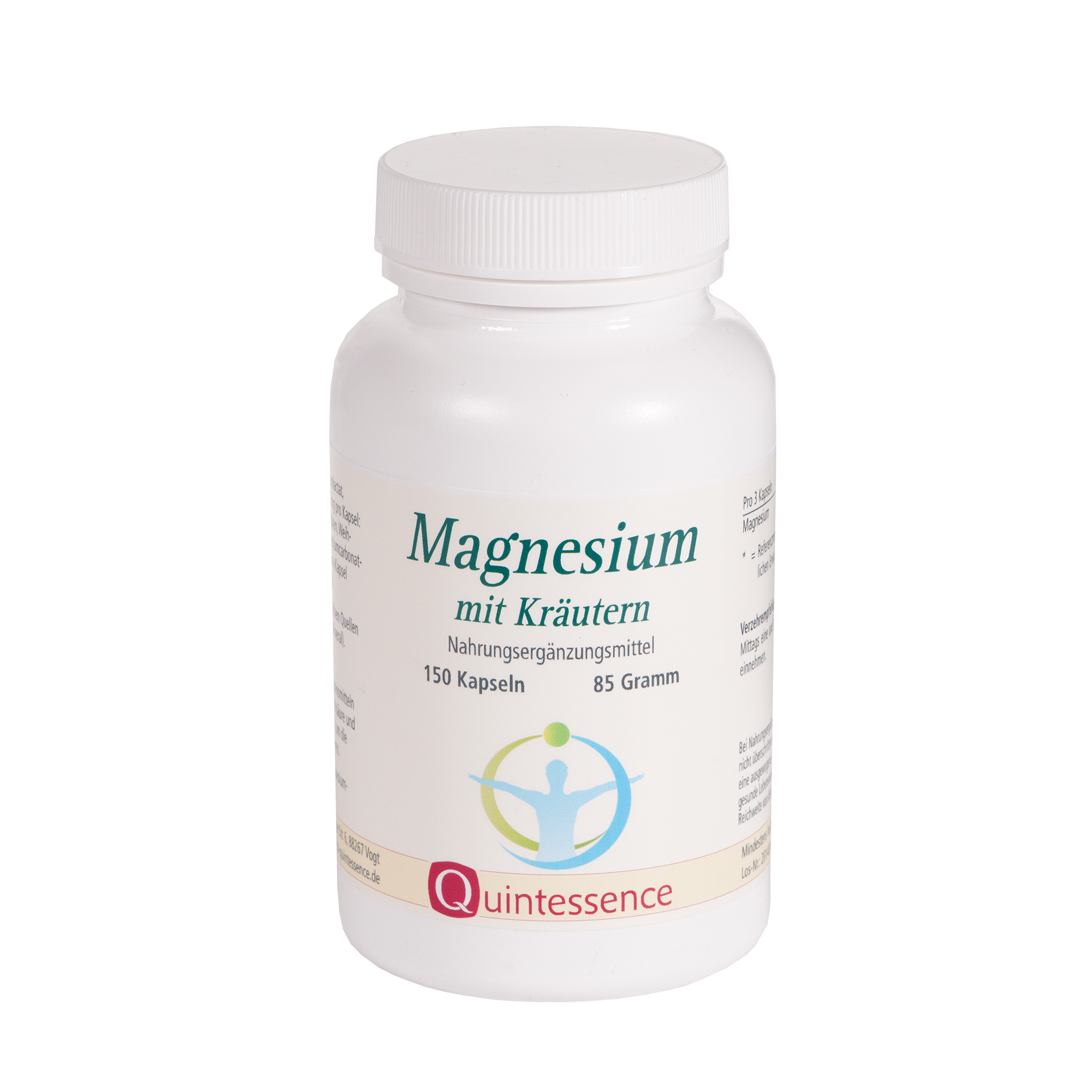 Magnesium mit Kräutern, 150 Kapseln