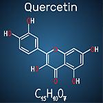 Chemische Struktur von Quercetin
