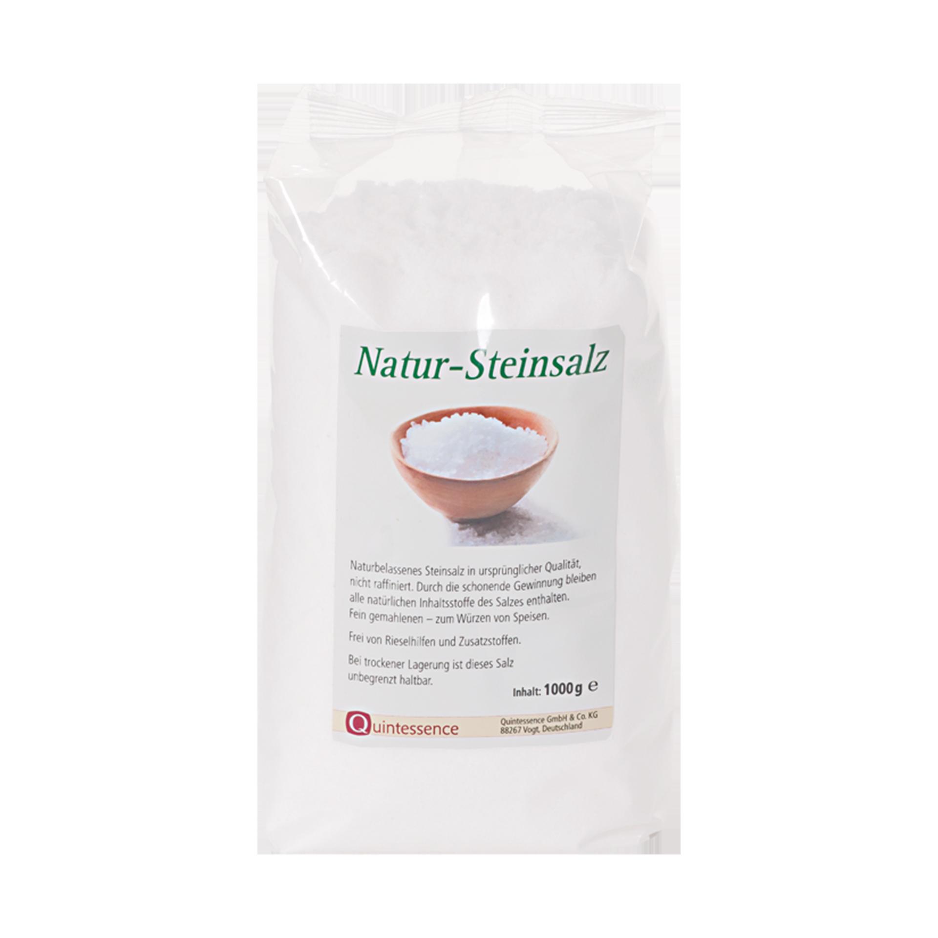 Natursteinsalz, fein gemahlen, 1000 g