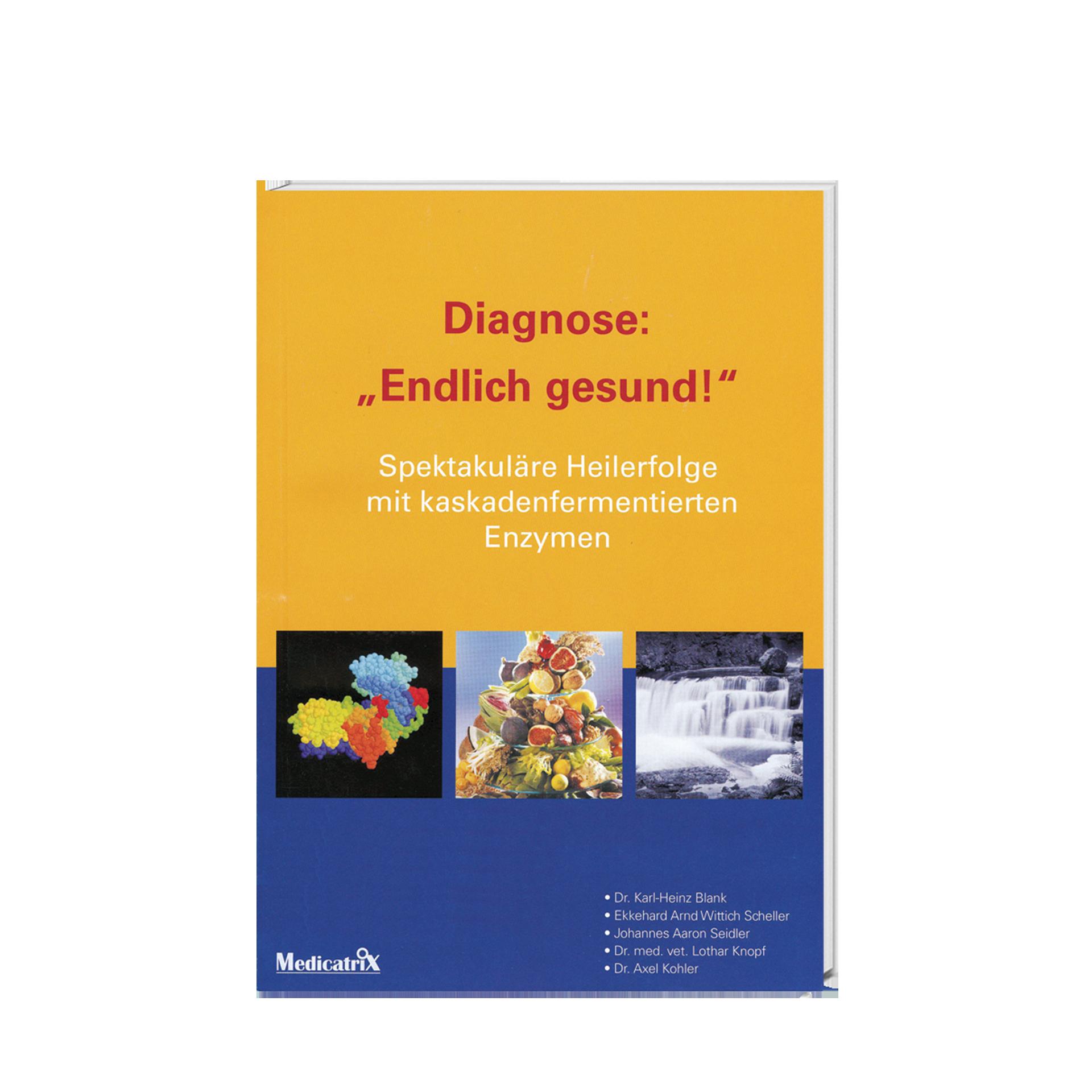 """Diagnose: """"Endlich gesund!"""", 132 Seiten"""
