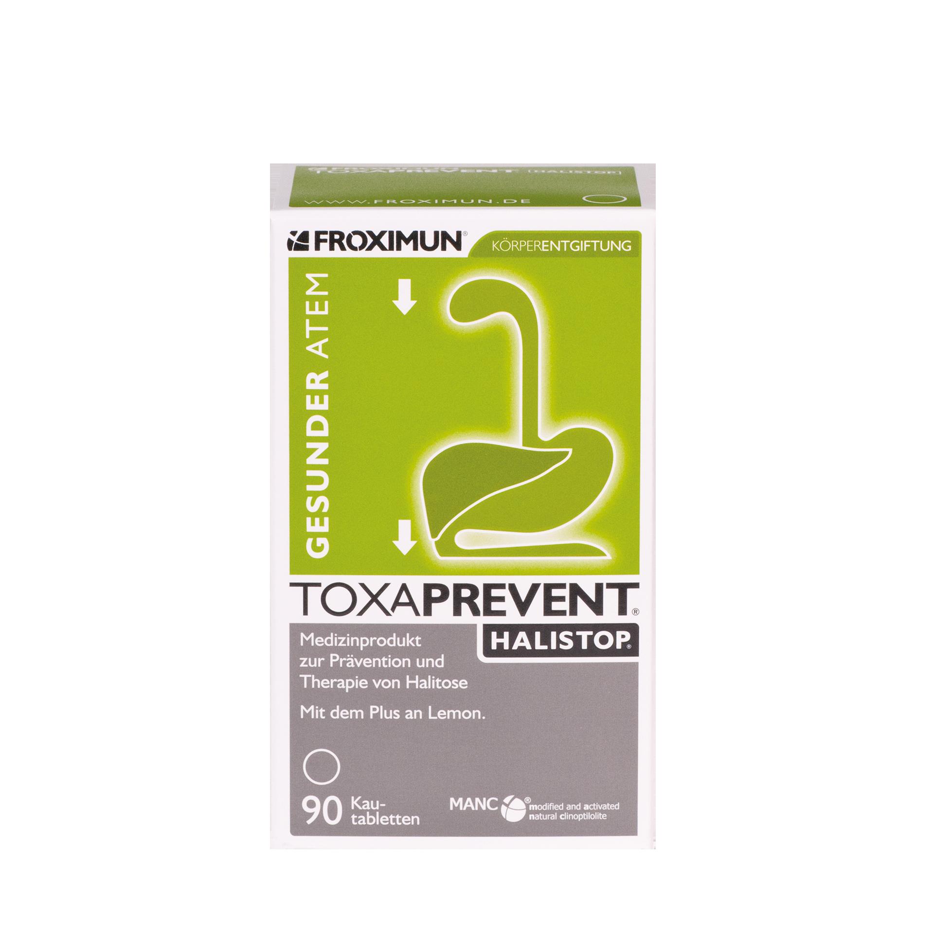 Toxaprevent Halistop, 90 Kautabletten