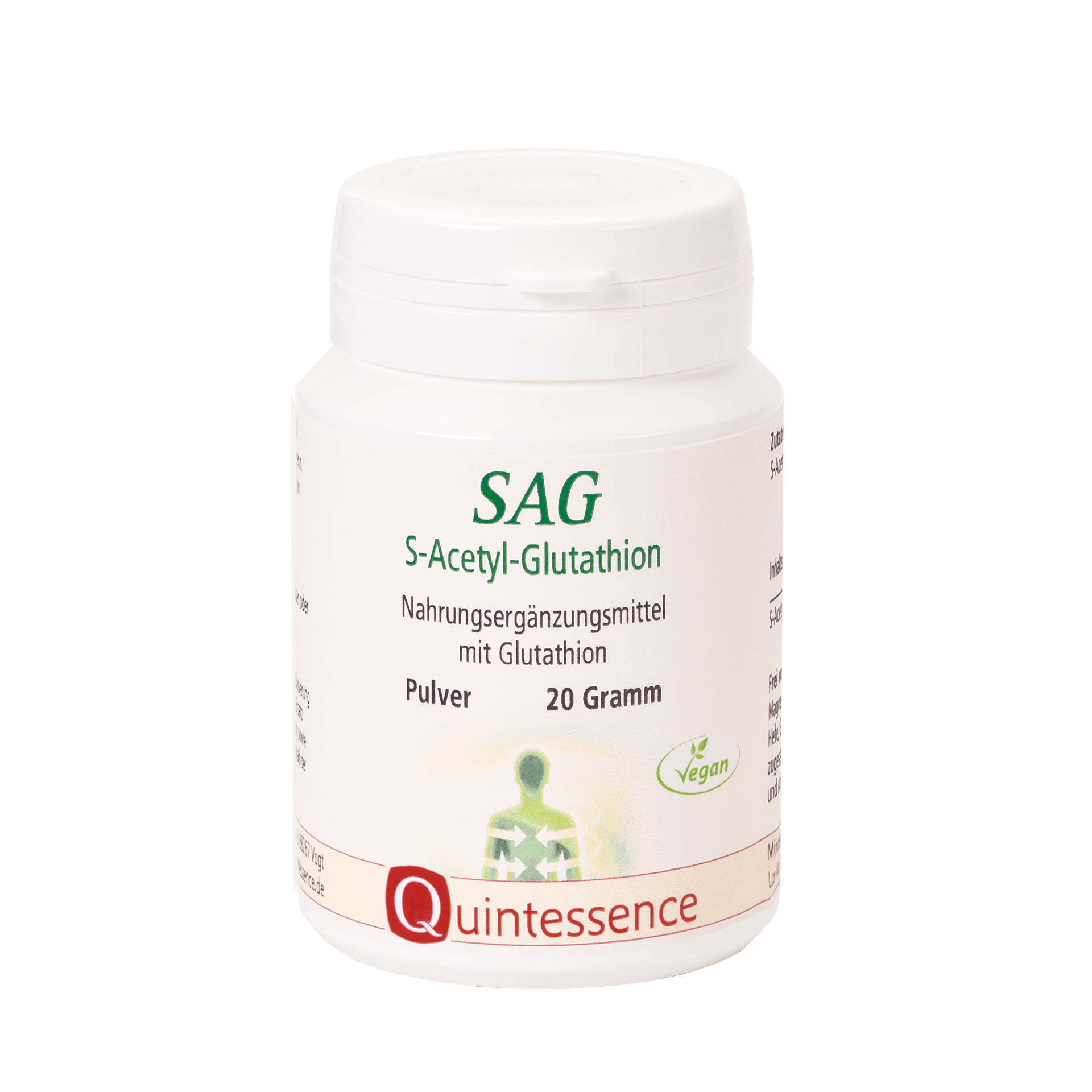 SAG S-Acetyl-Glutathion, 20 g Pulver