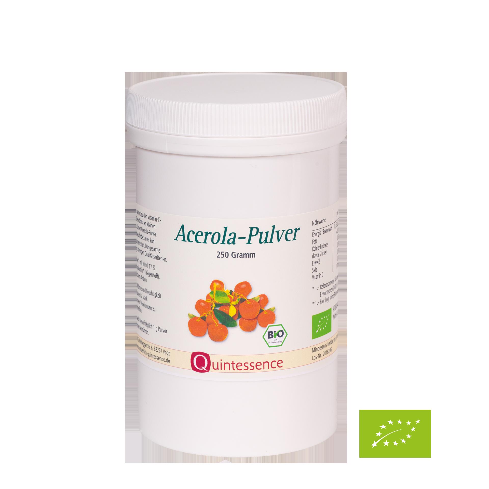 Acerola-Pulver BIO, 250 g