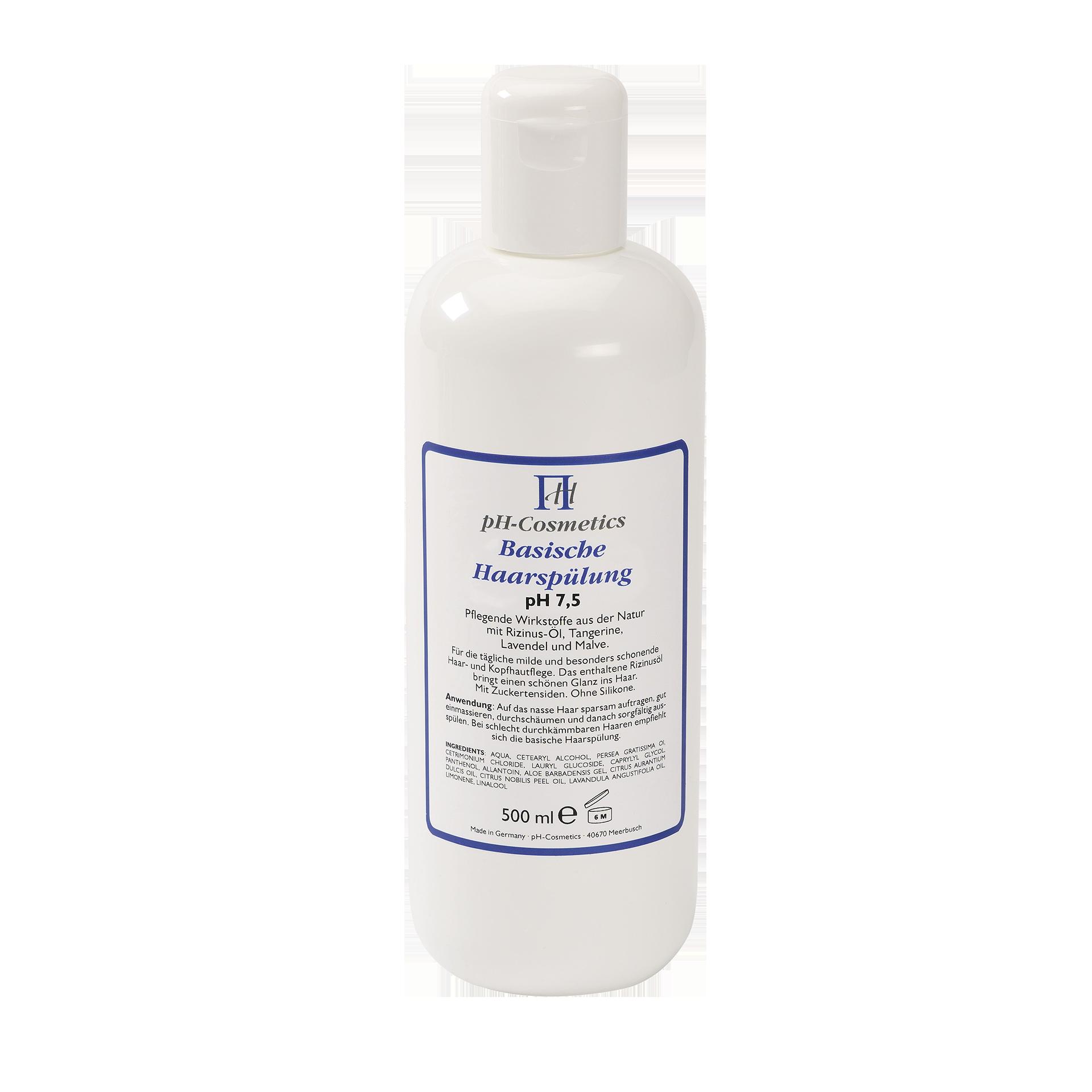 pH-Cosmetics Basische Haarspülung, pH 7.5, 500 ml
