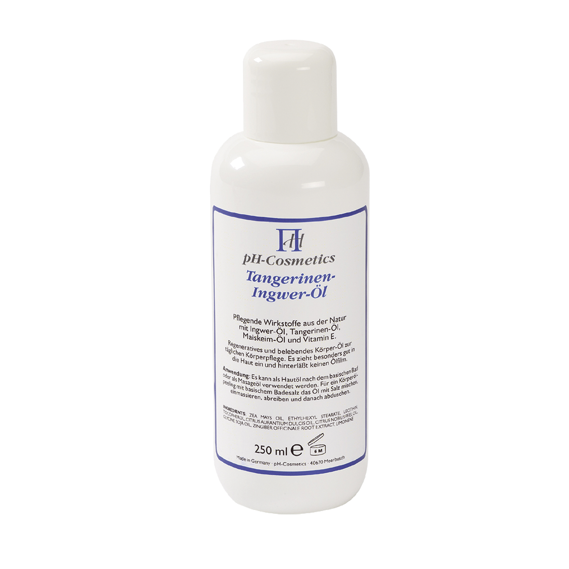 pH-Cosmetics Tangerinen-Ingwer-Öl, 250 ml